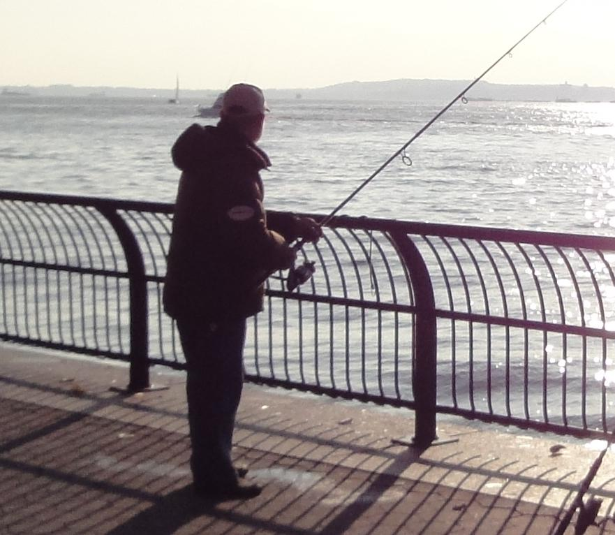 Shark fisherman