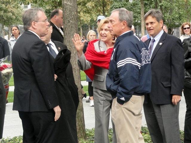 Bloomberg at memorial
