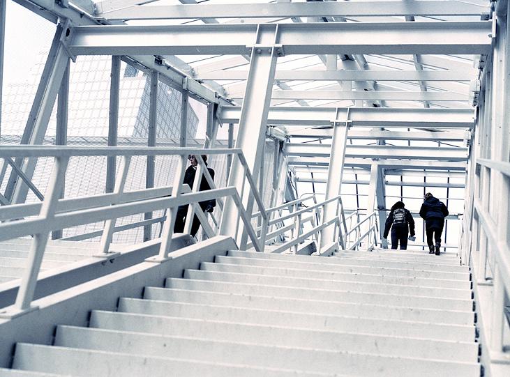 Lange Vesey bridge stairs