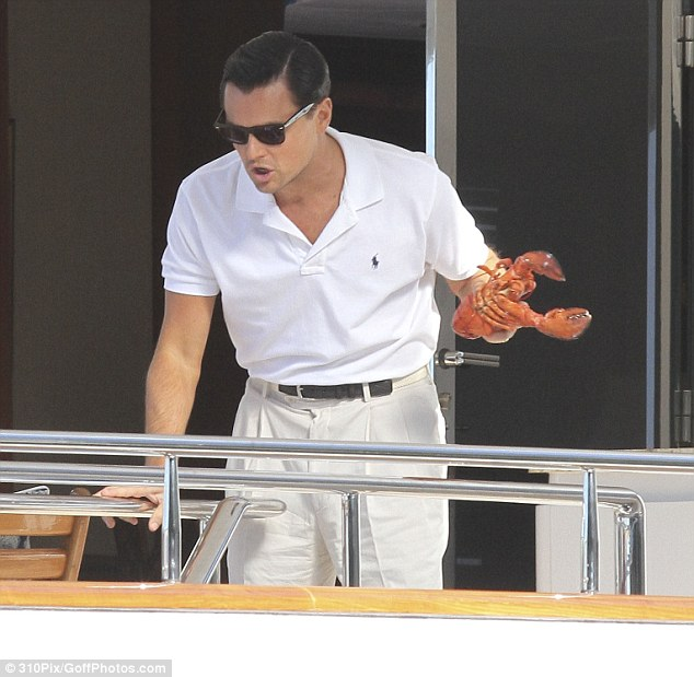 Leo and lobster