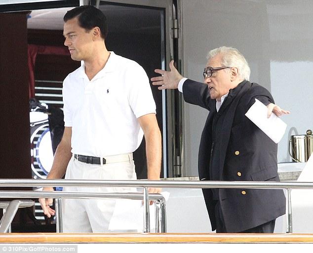 Scorsese and DiCaprio
