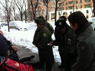 PEP arresting Pratt