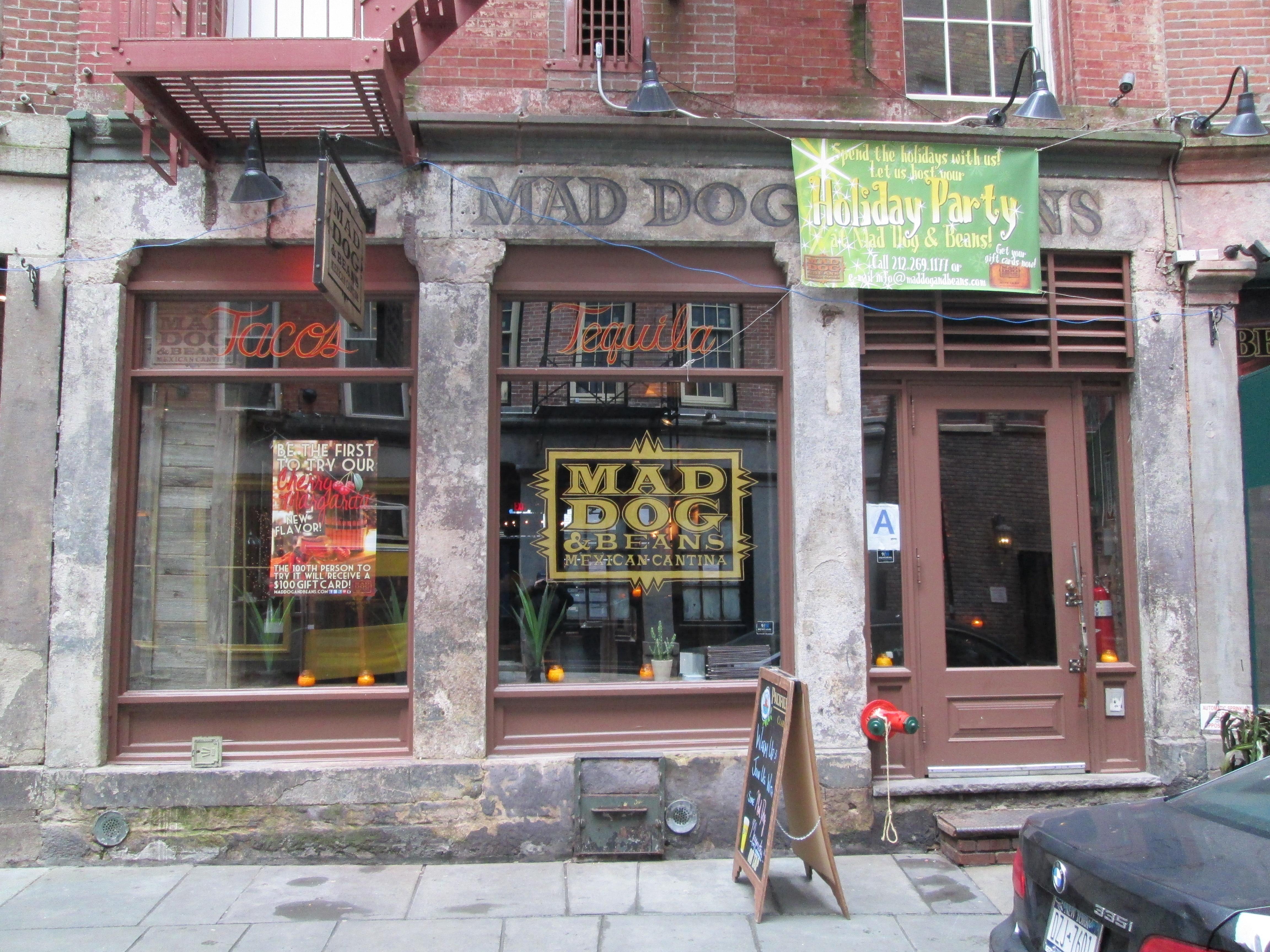 mad dog stone street