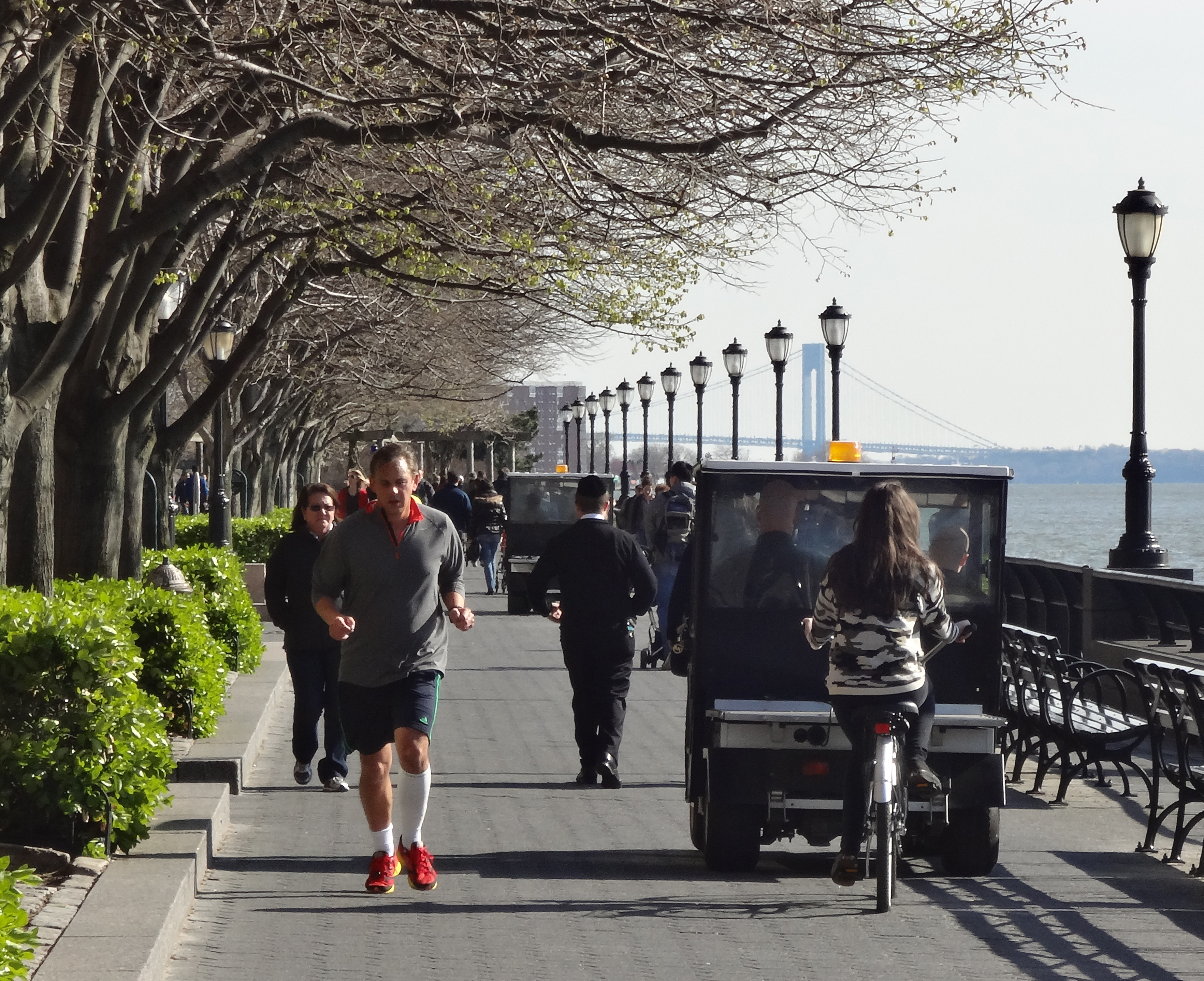 Esplanade and PEP joggers