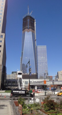 Freedom Tower April 3 2012