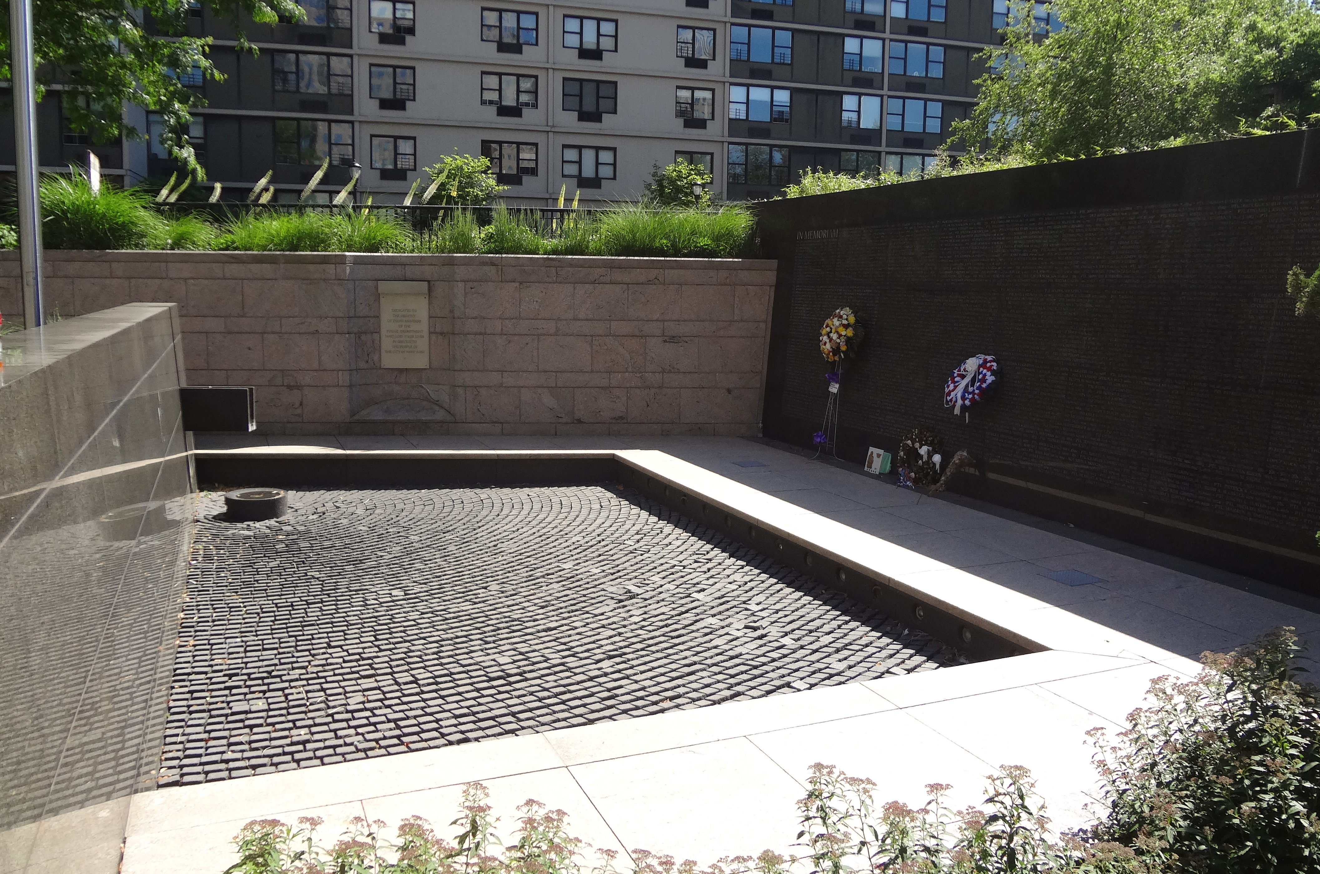 Police Memorial no water