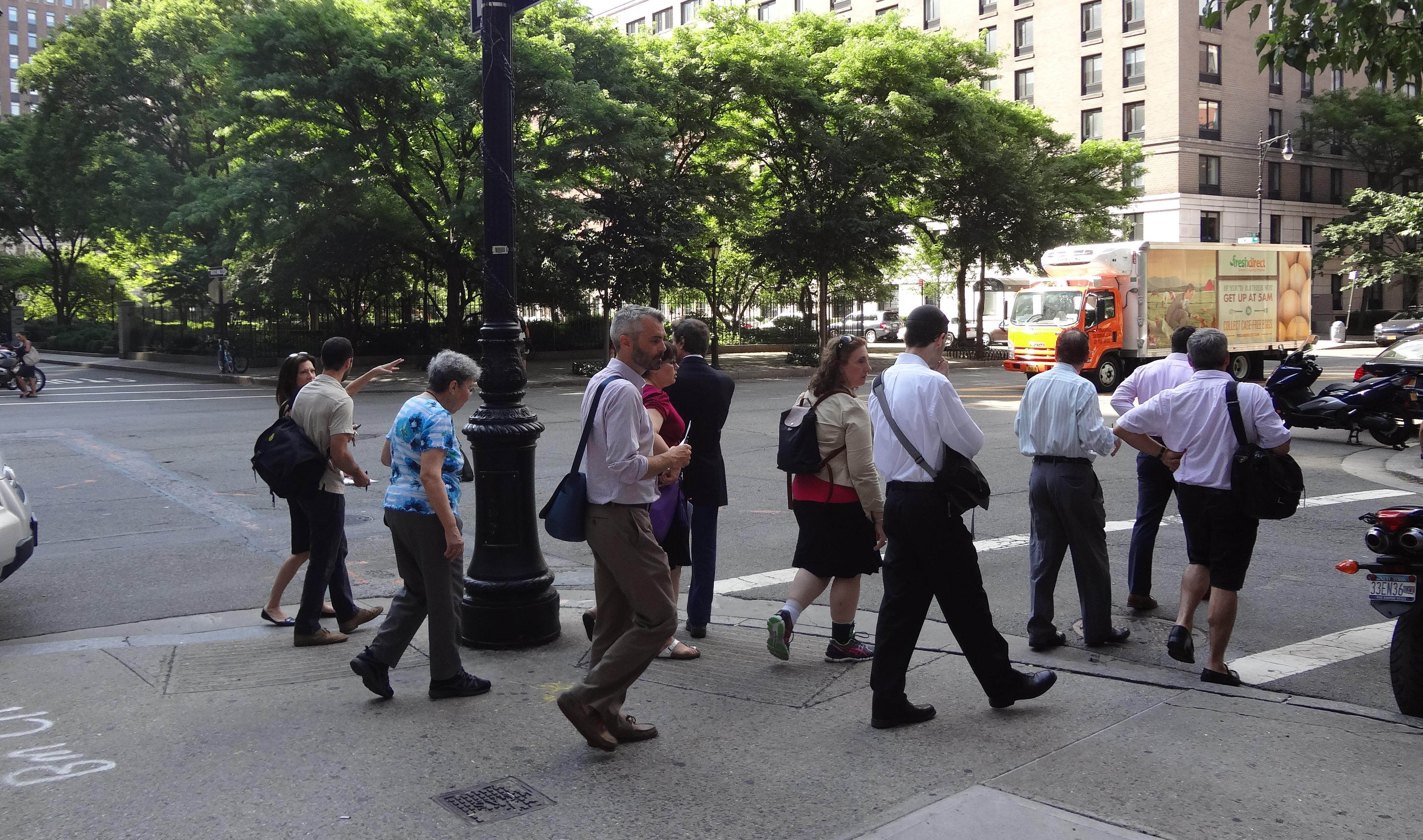 Walking group B