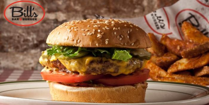 Bills burger hamburger