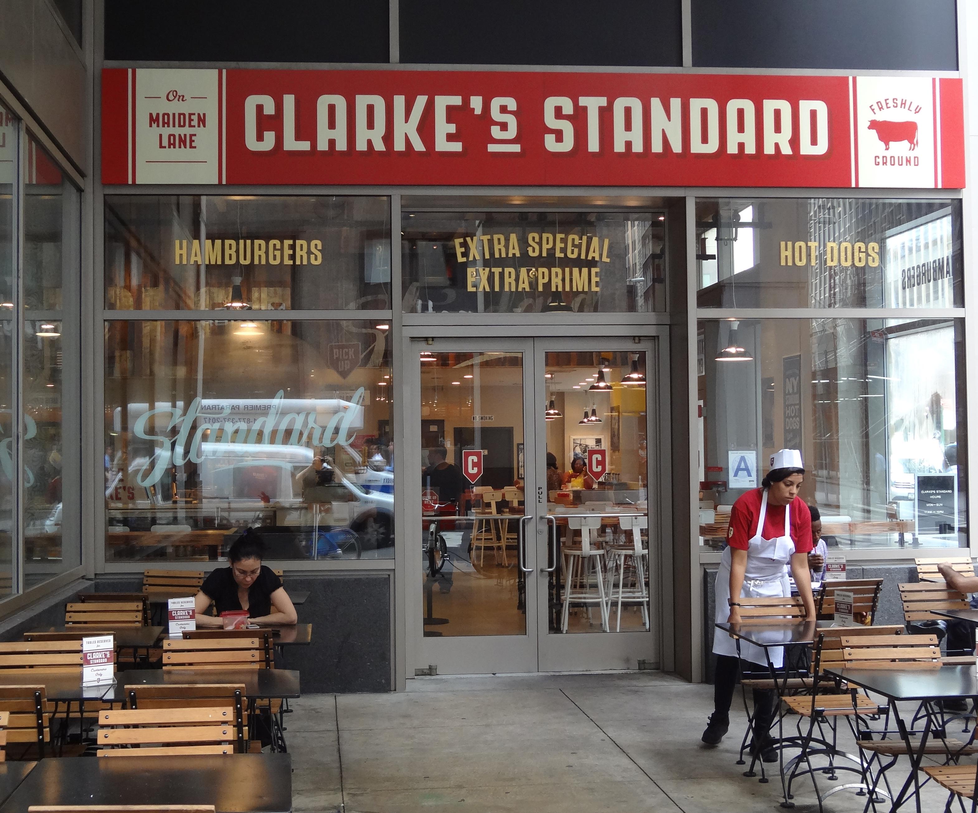 Clarkes Standard front