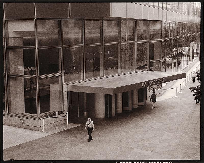 Lange of Goldman entrance