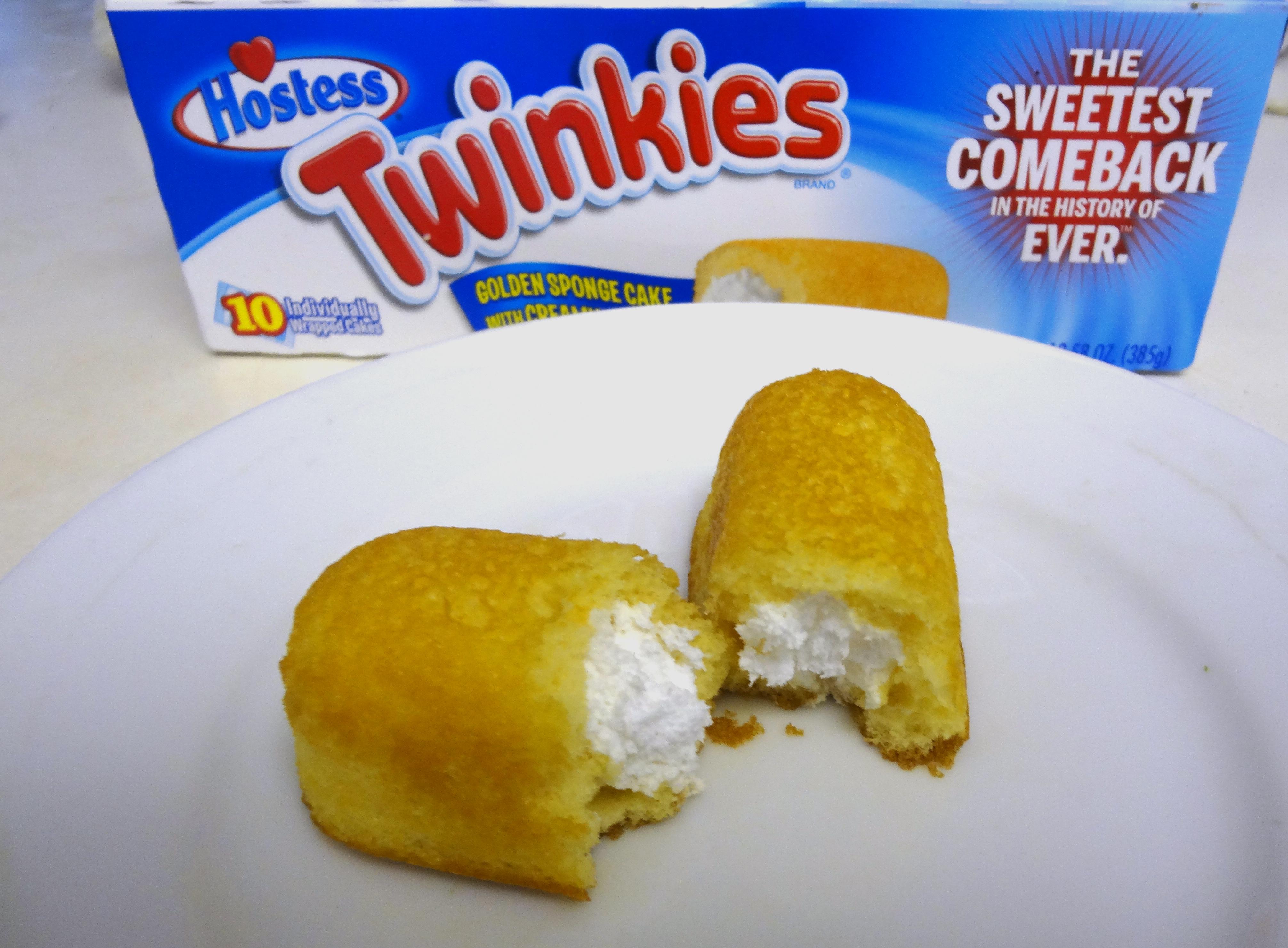 Twinkies open