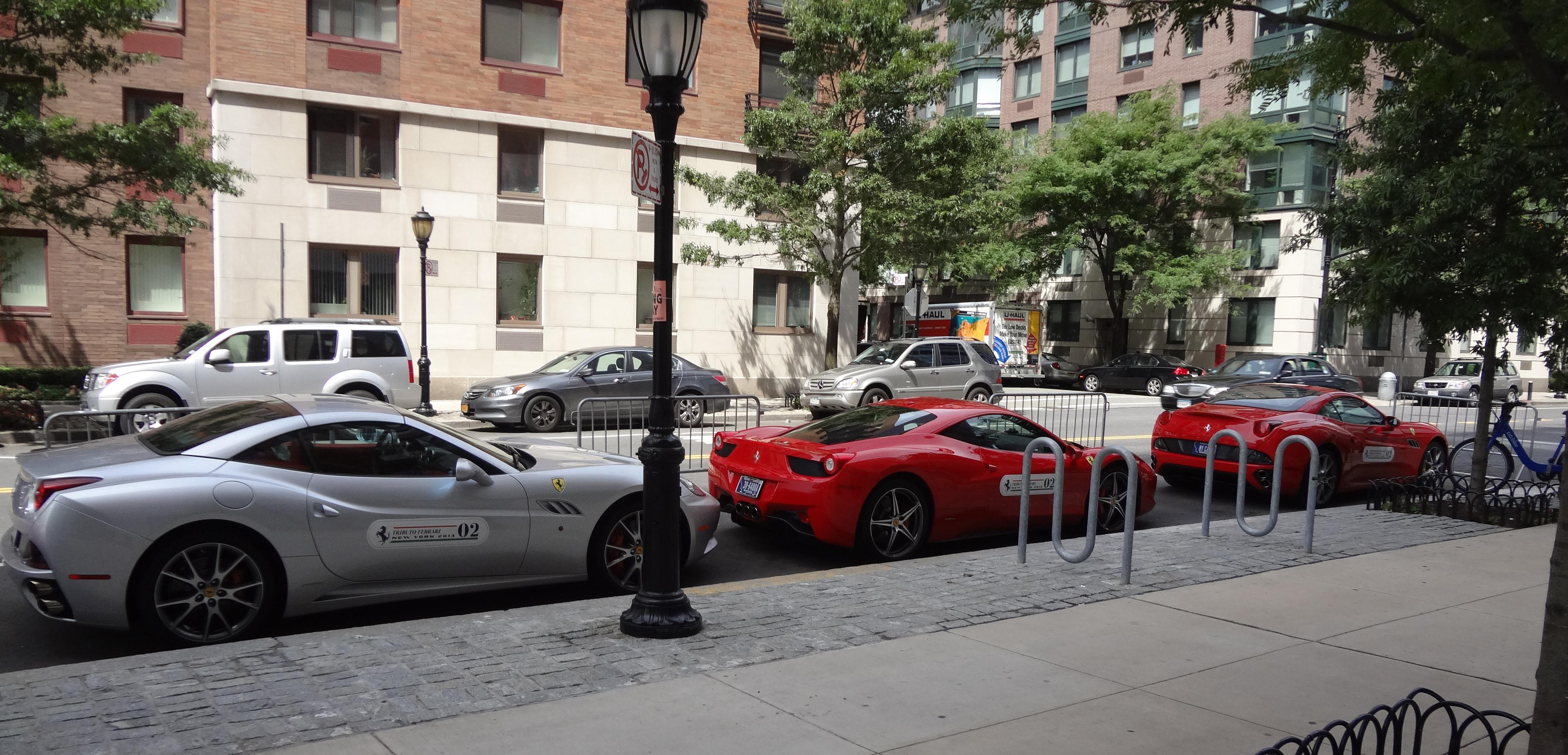 Ferrari and bike 2