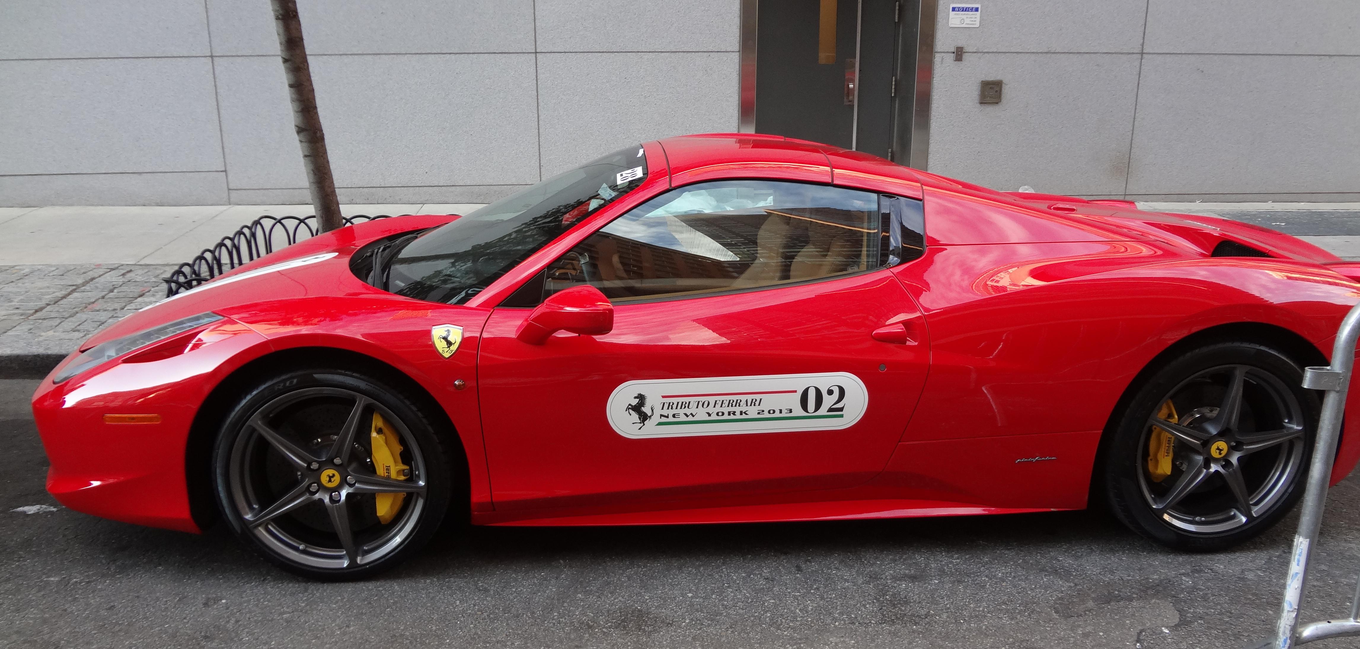 Ferrari red racer