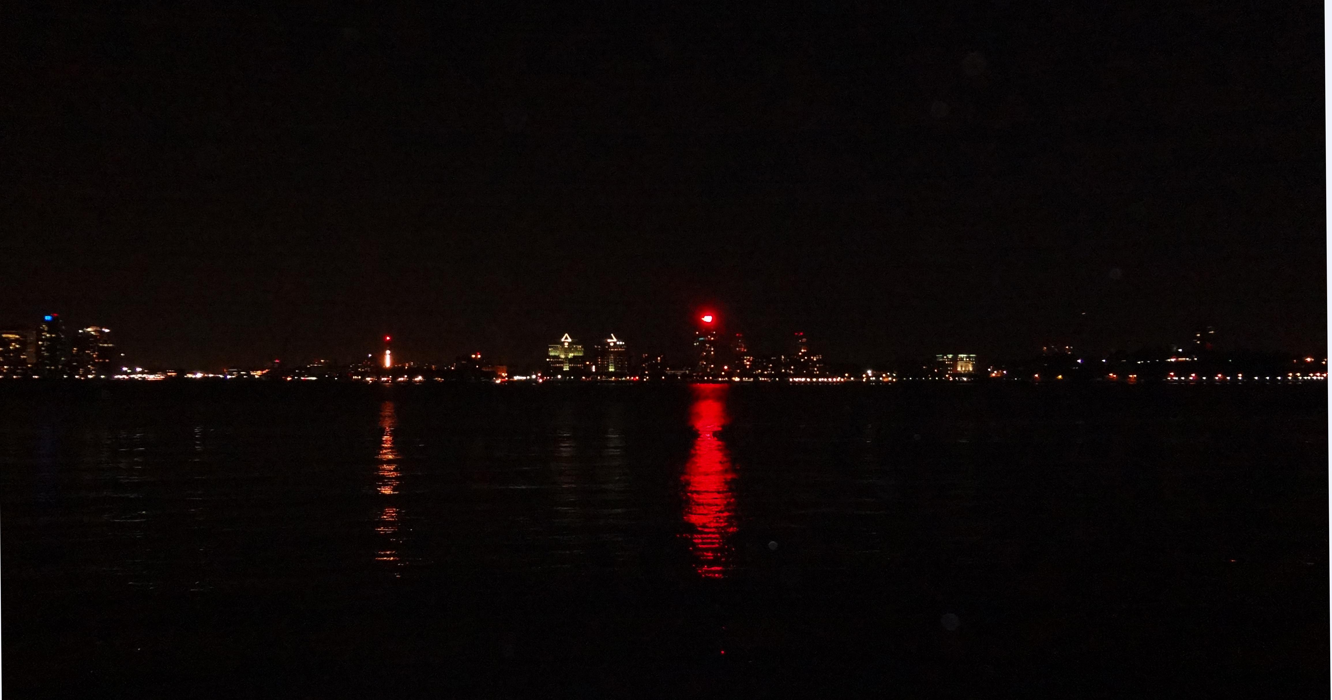Jersey City W hotel reflection 8-16-2013