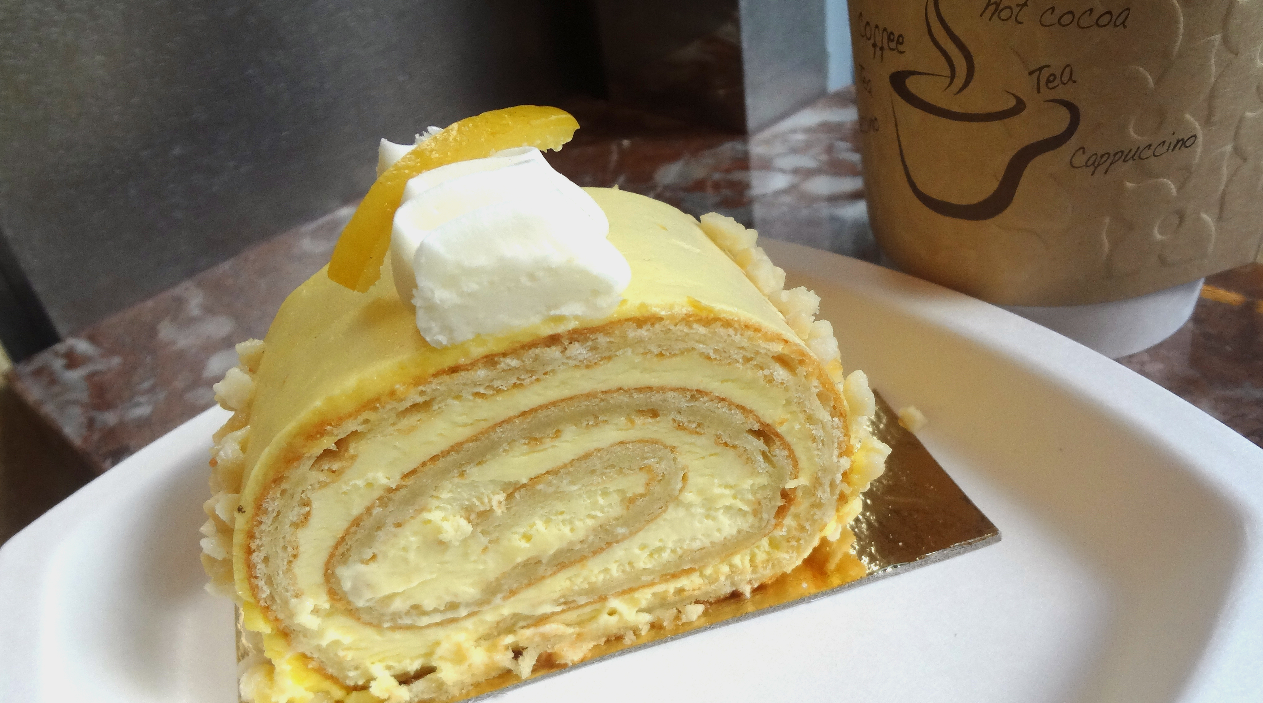 Lemon Gâteau Roulé by Payard