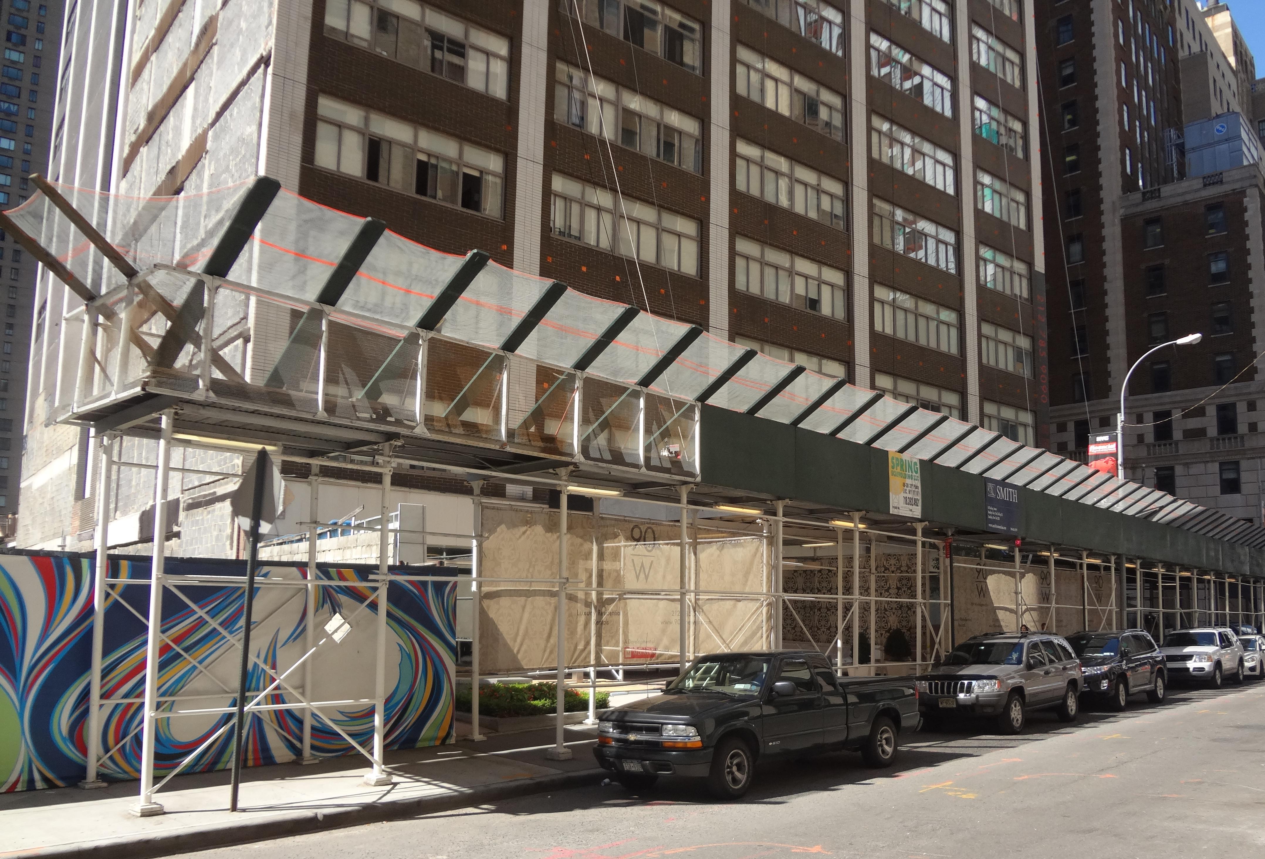 90 Washington scaffold 9-6-2013
