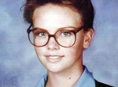 Charlize Theron age 14