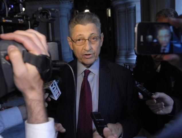 Sheldon Silver press conference