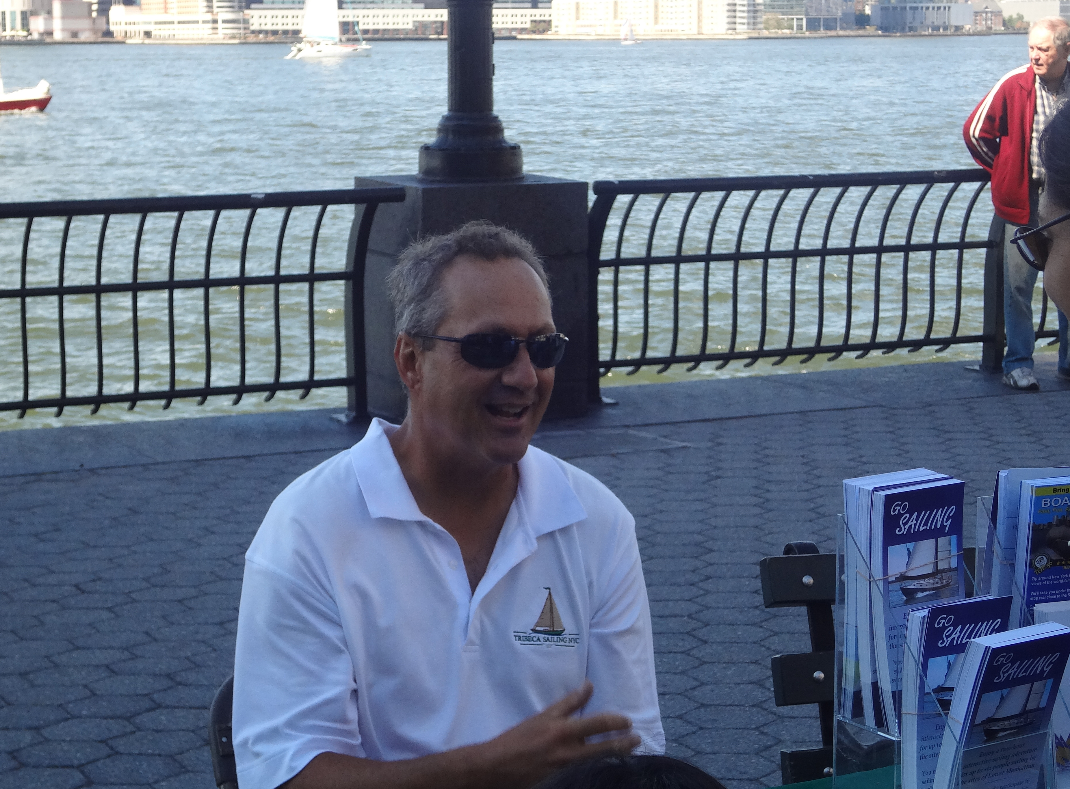 Tribeca sailing Captain