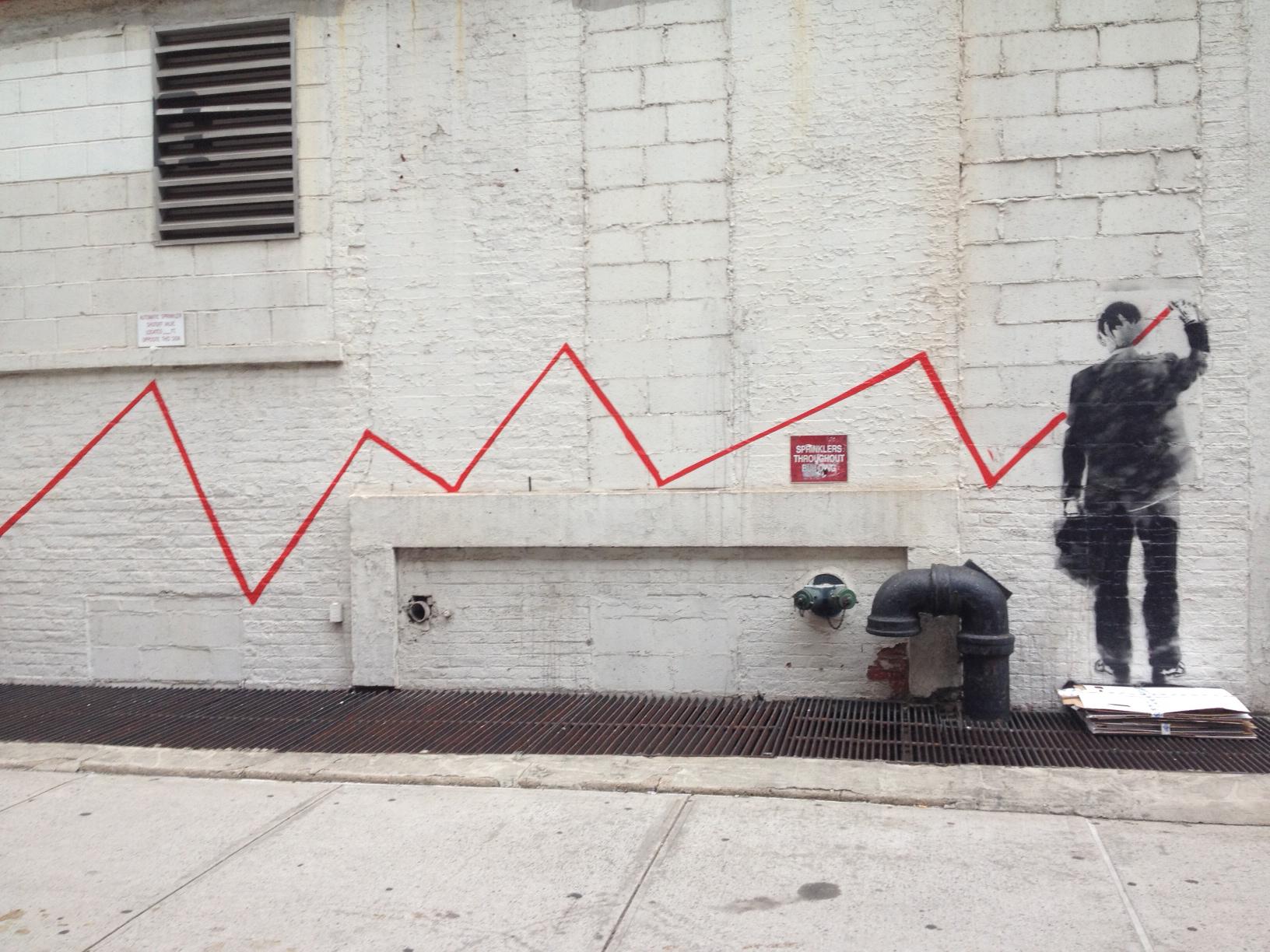 Banksy on Greenwich
