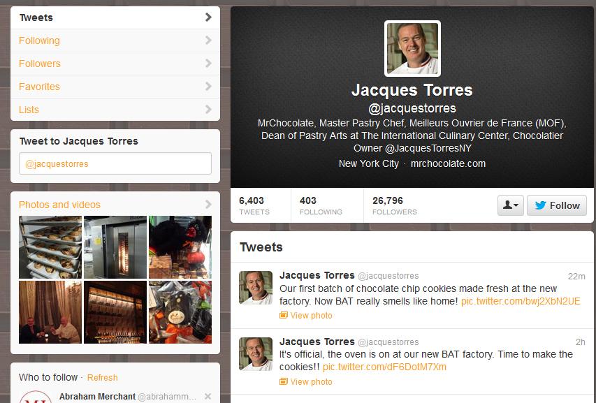 Torres tweets