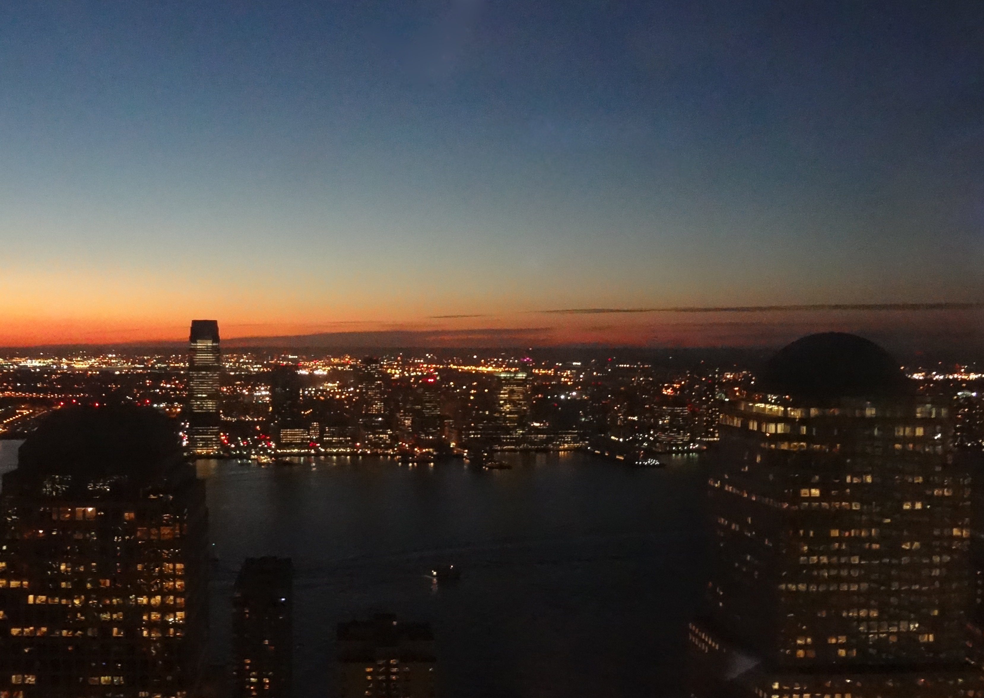 West from floor 50 of 4 WTC