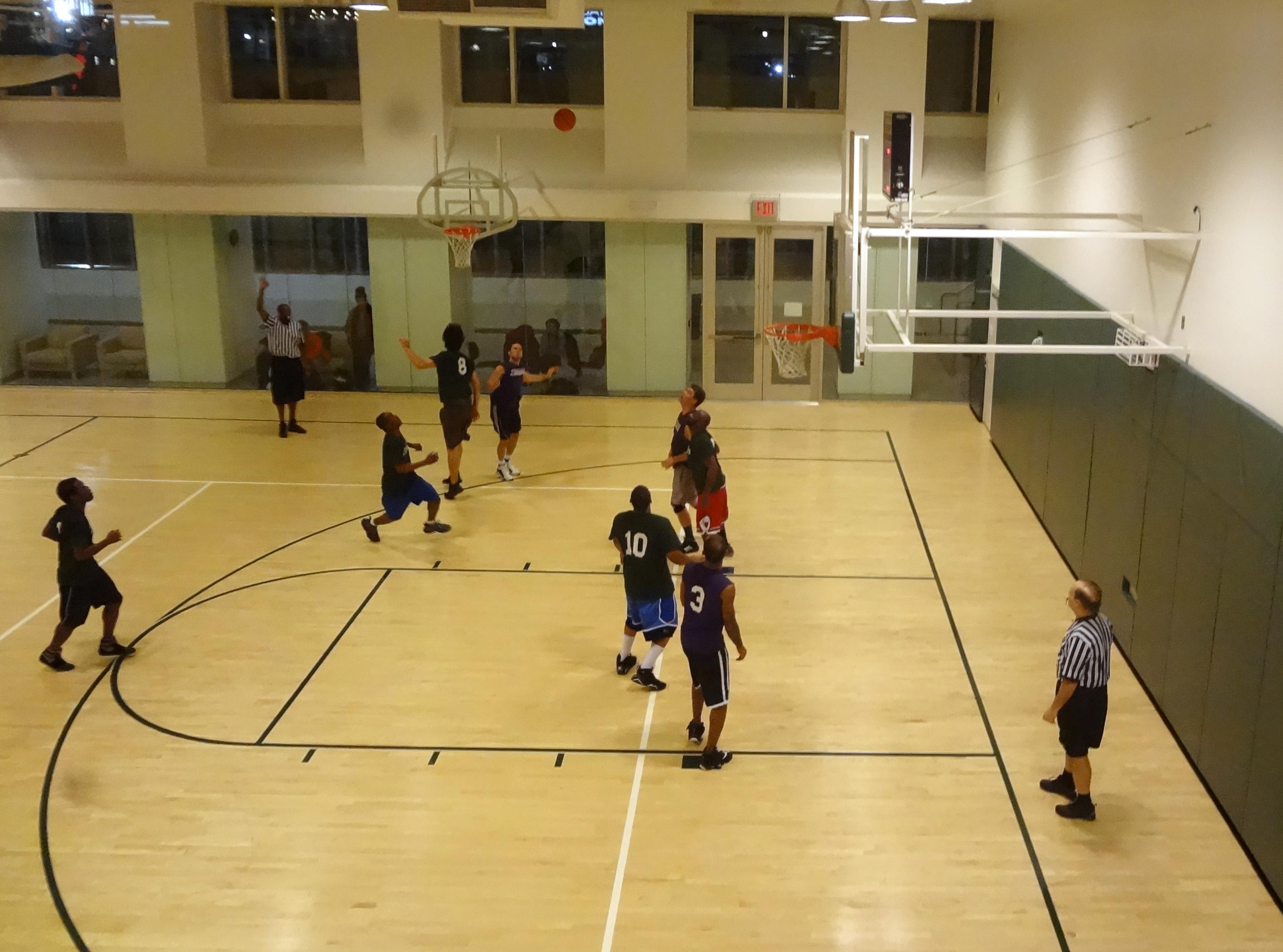 Asphalt Green basketball team