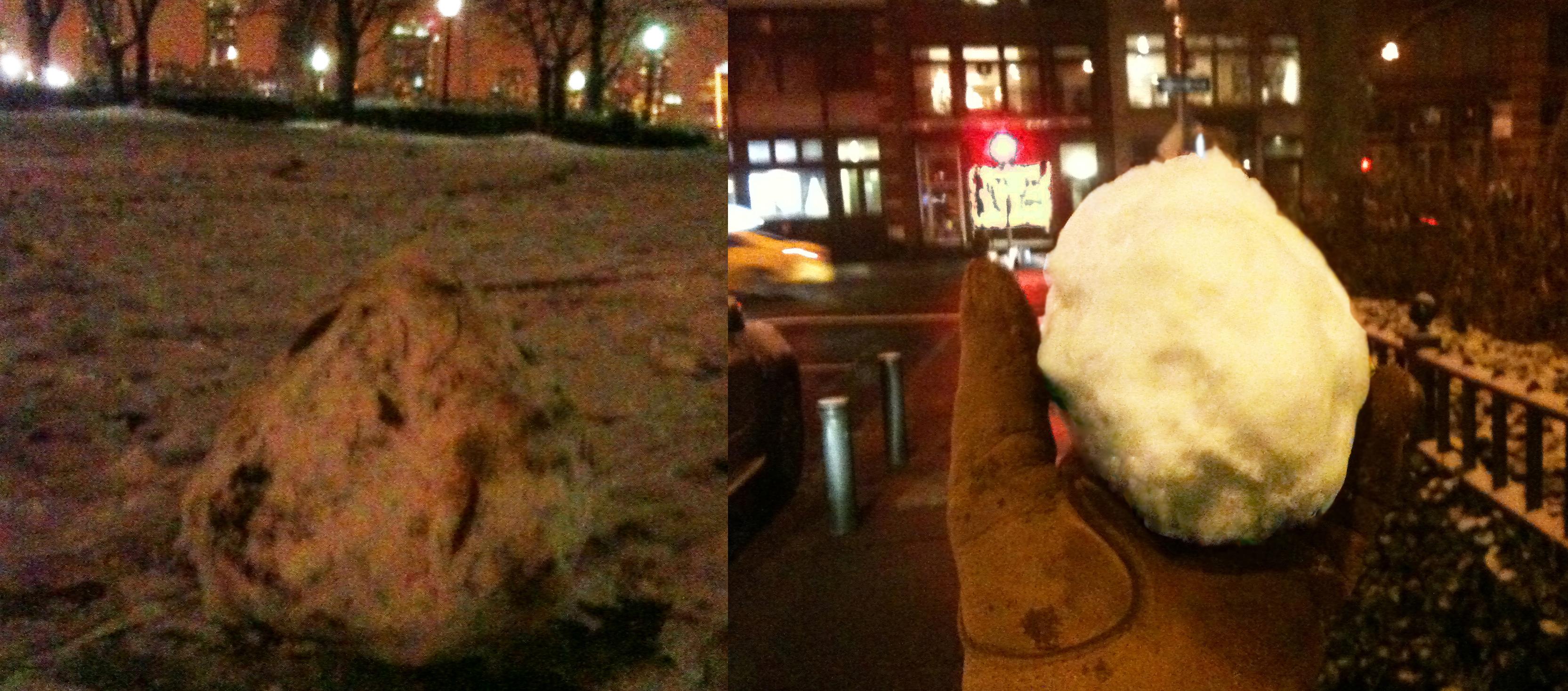 2 snowballs