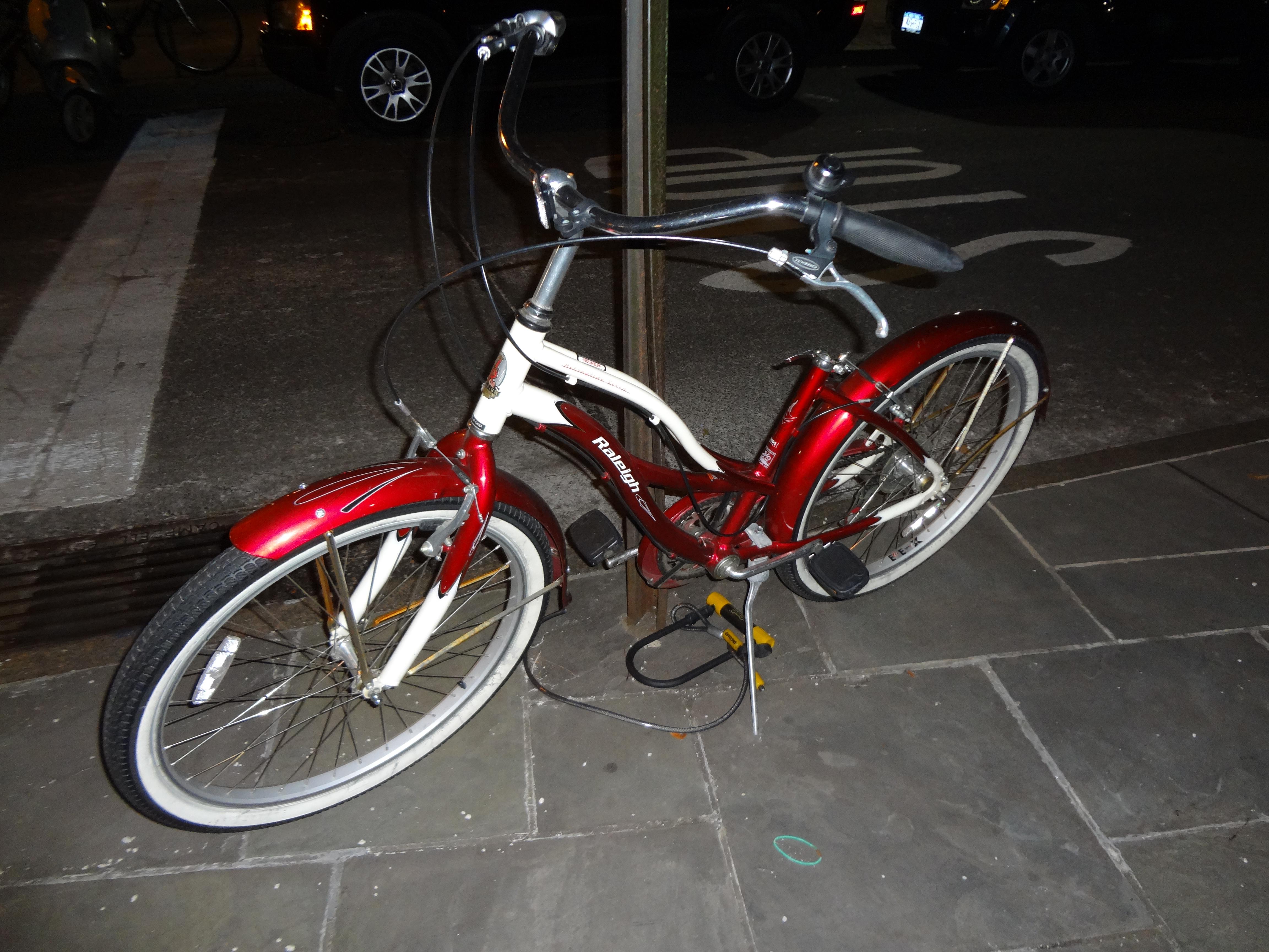 Bike remaining
