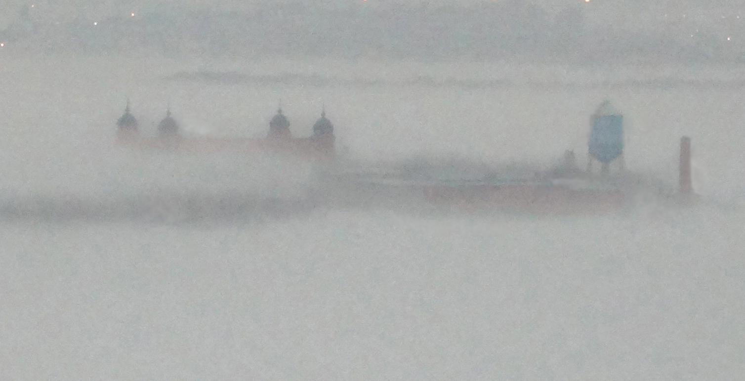 Ellis Island fog closeup crop