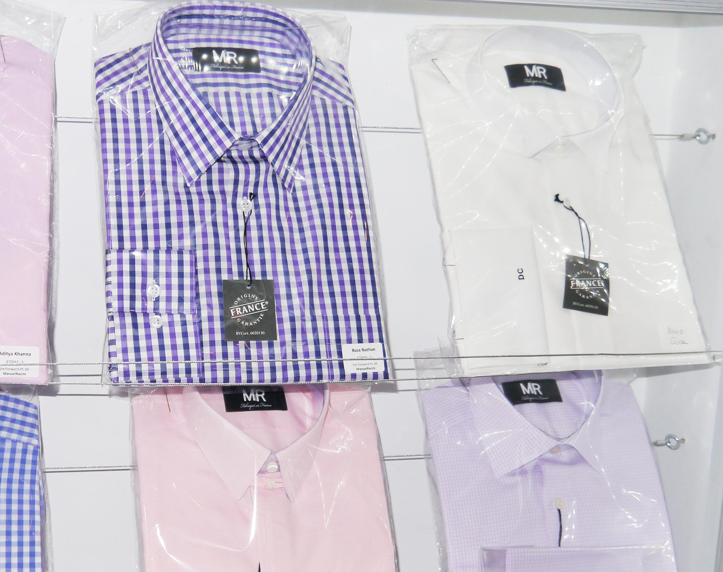 MR shirts on shelf 1