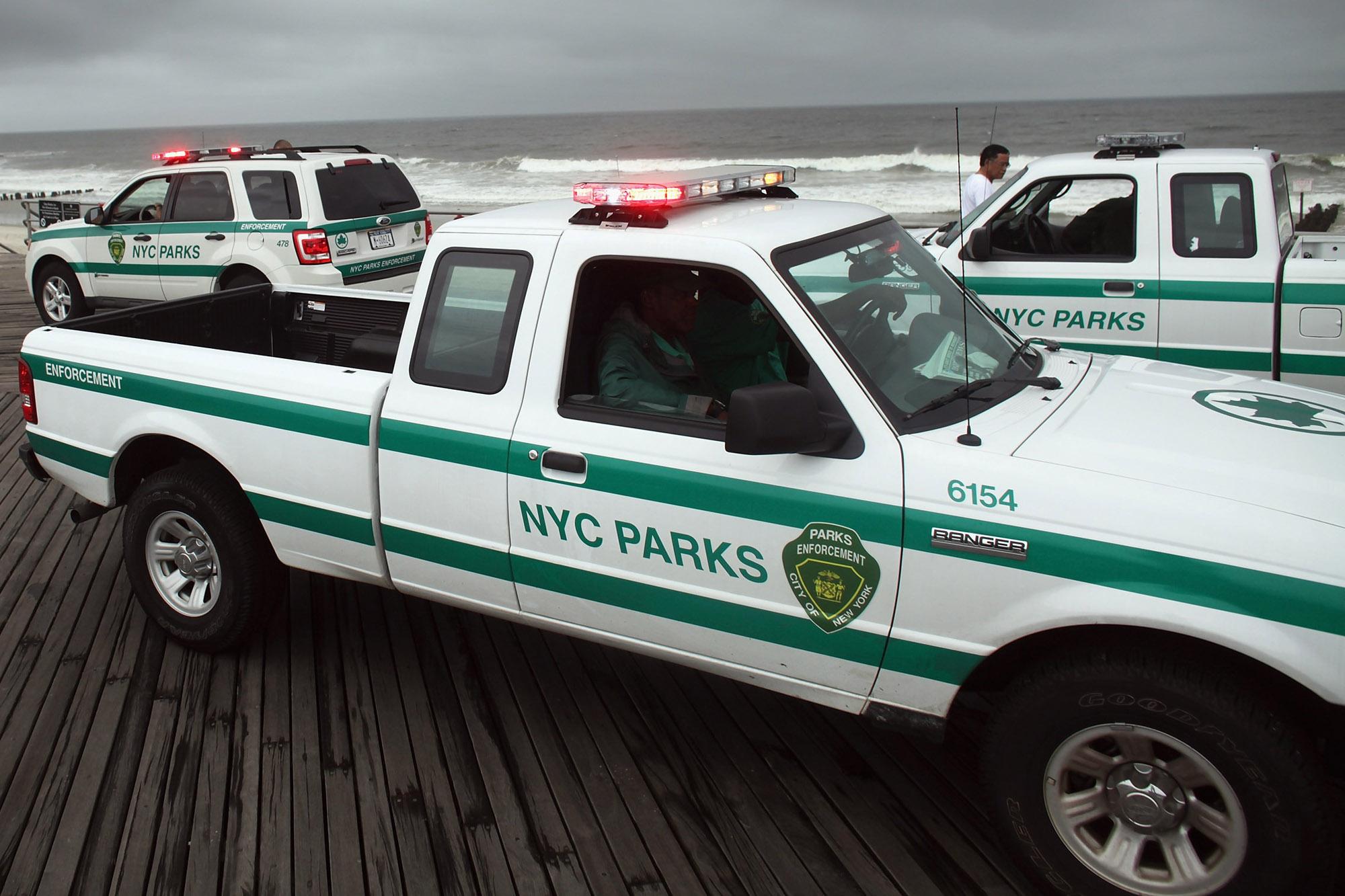 New York City Prepares For Direct Hit By Hurricane Irene
