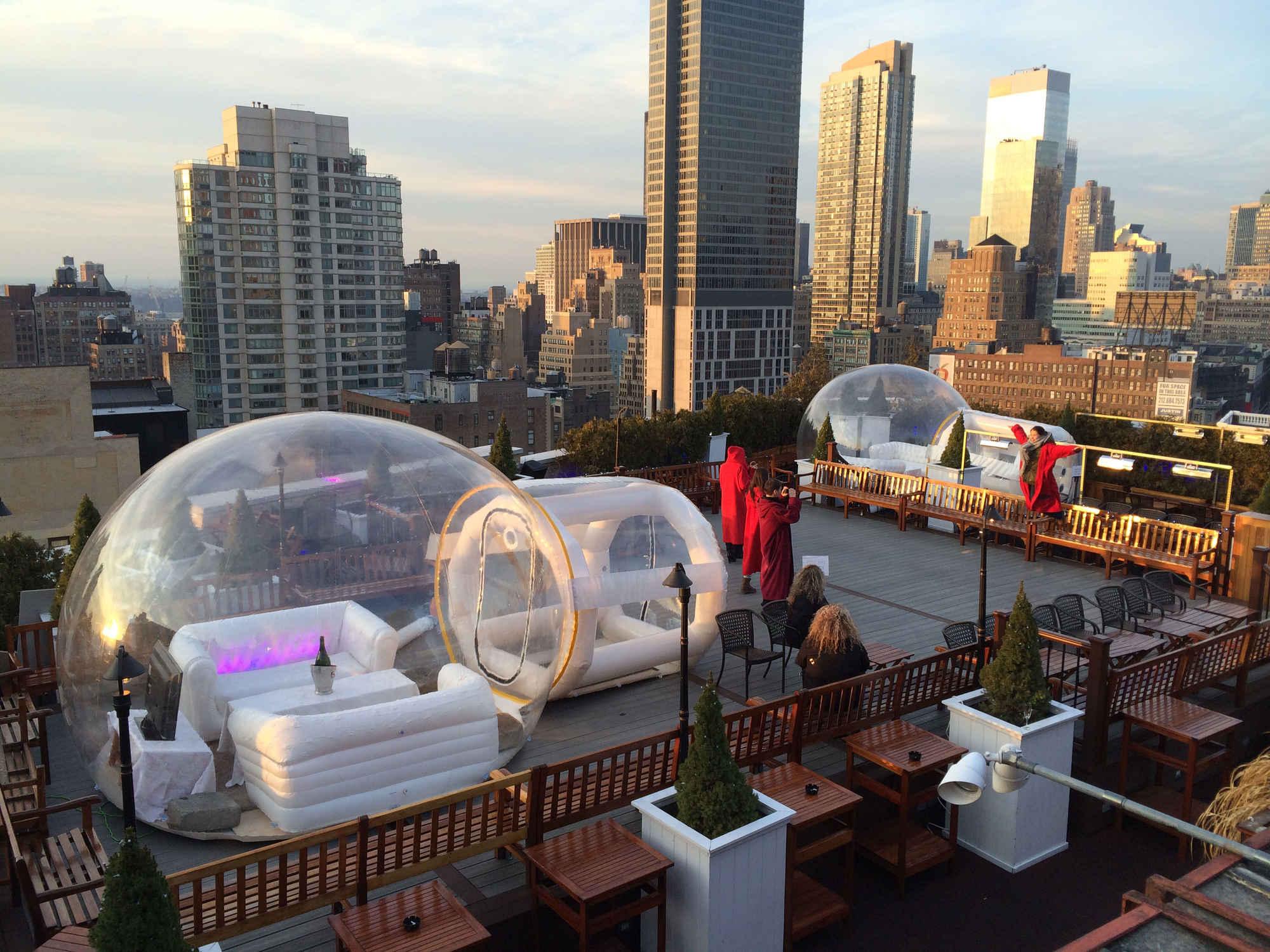 230 Fifth inflatable igloo