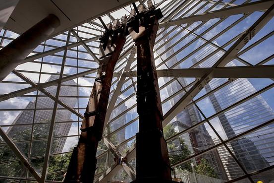 911 Memorial inside