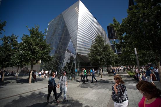 911 Memorial outside