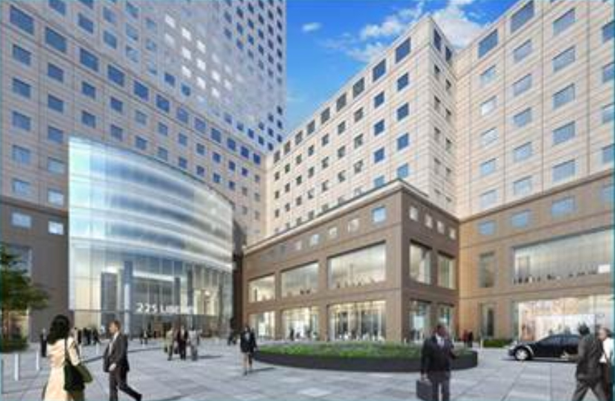 Early Look At New South Entrance To Brookfield Place