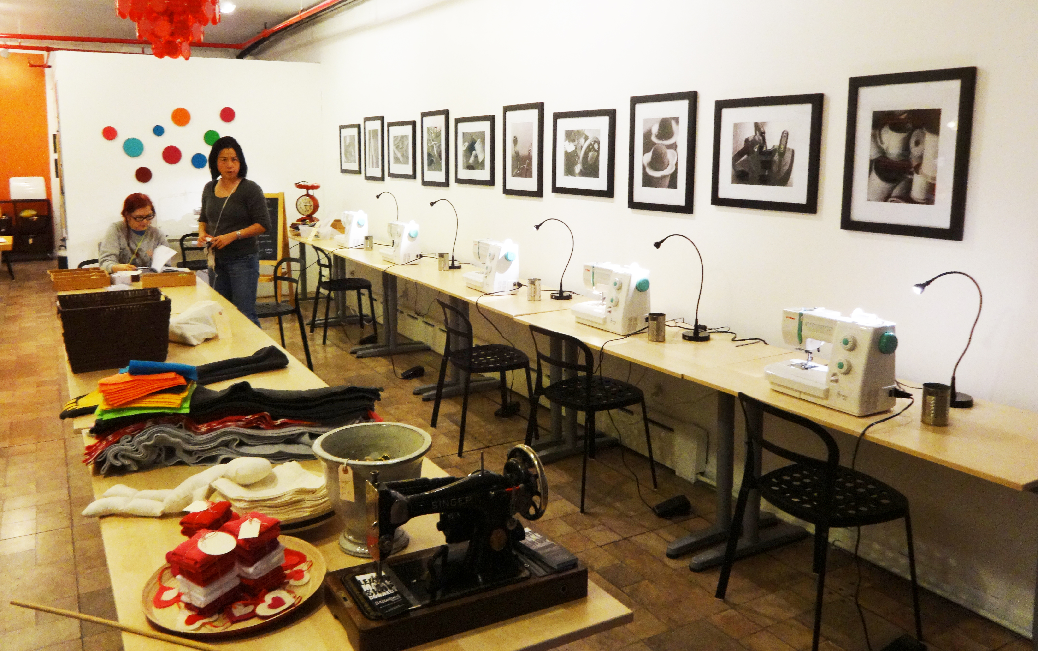 Stitched sewing machines
