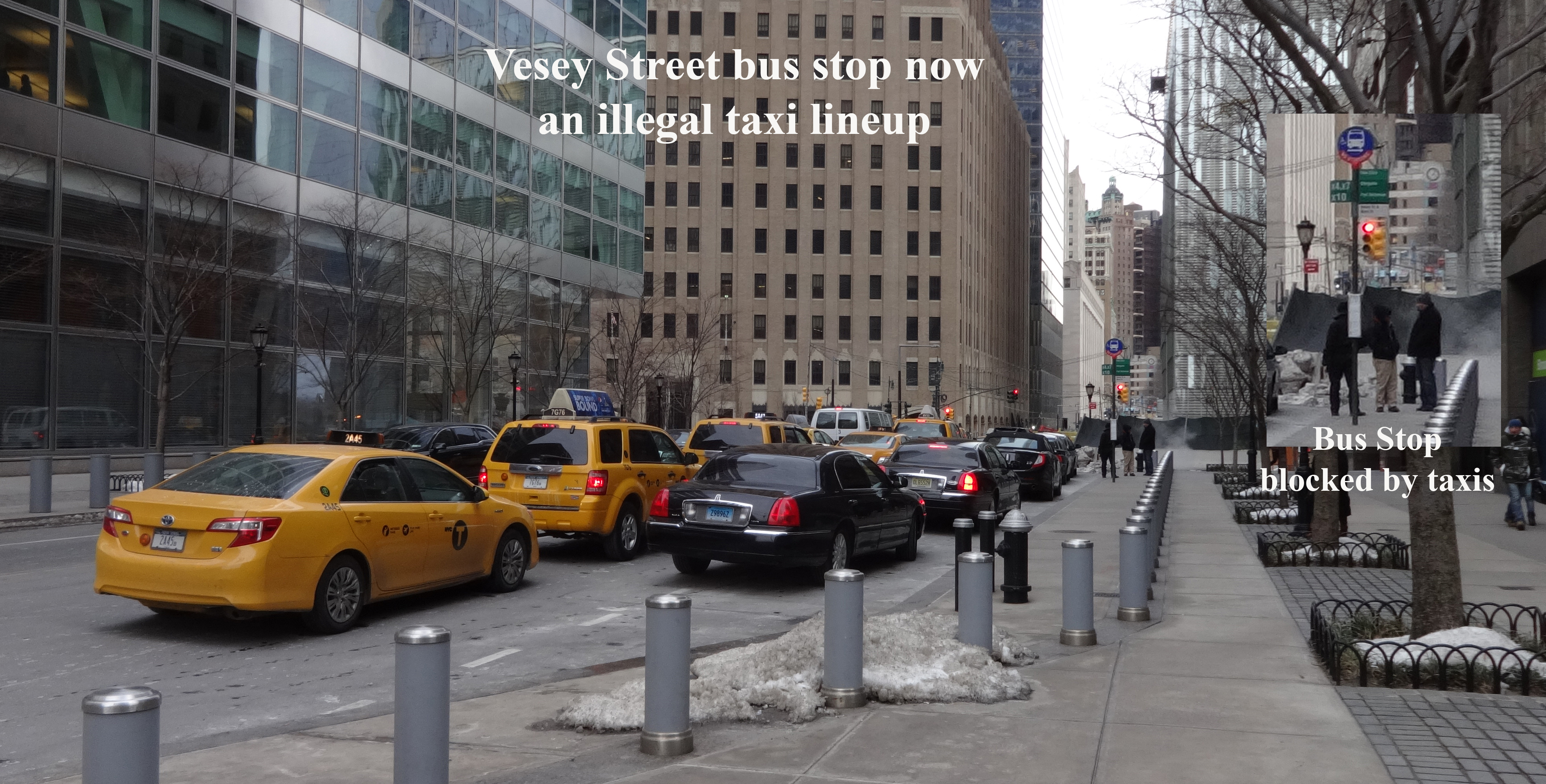 Vesey bus stop