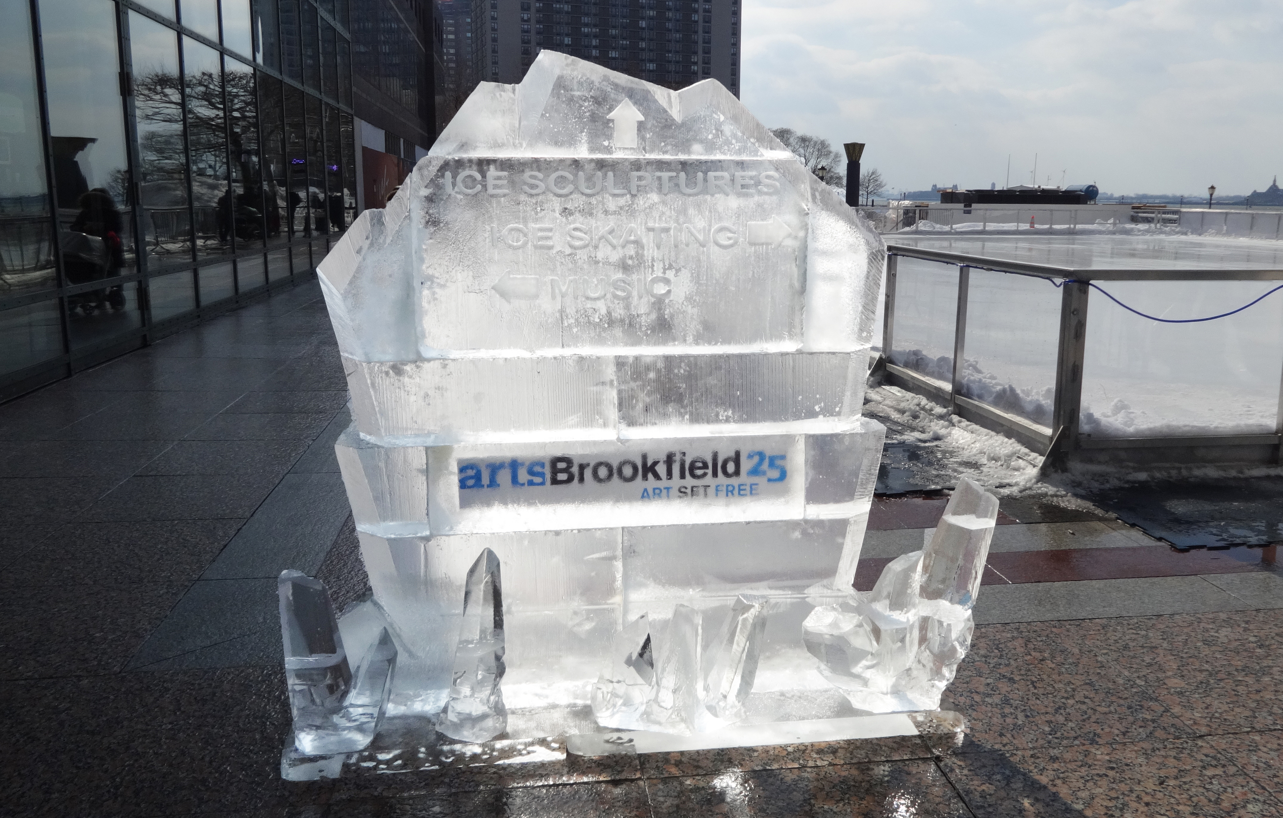 Brookfield ice sign