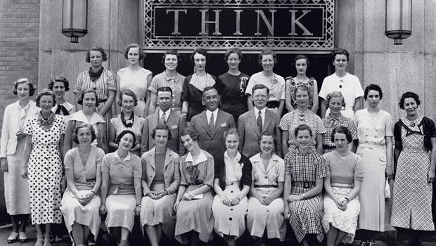 Colleg women in the 1930s