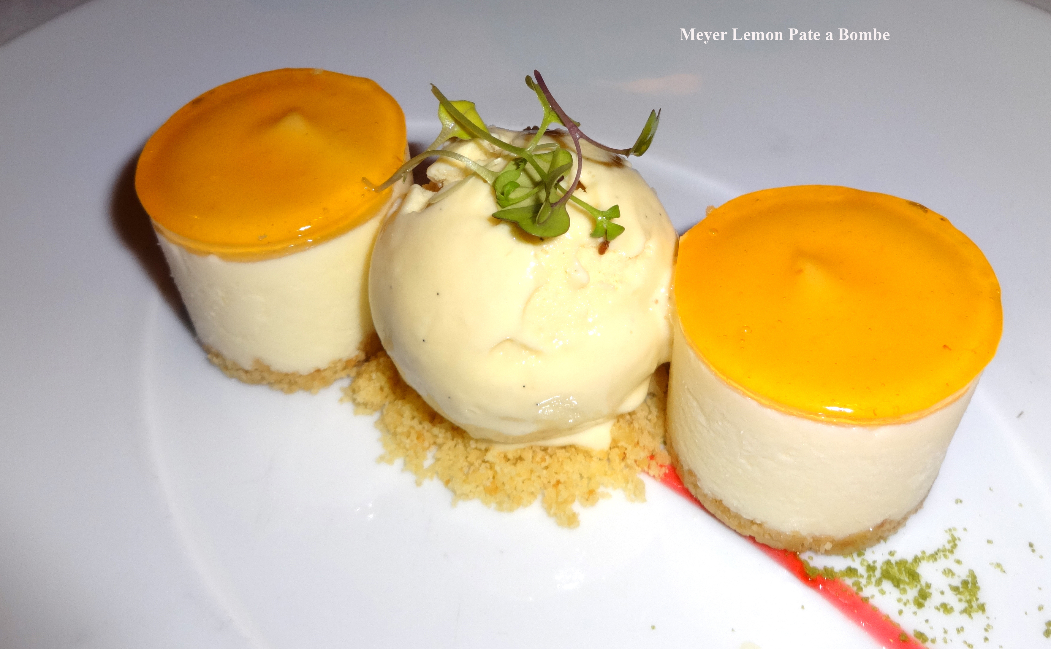 Lemon dessert Reserve Cut