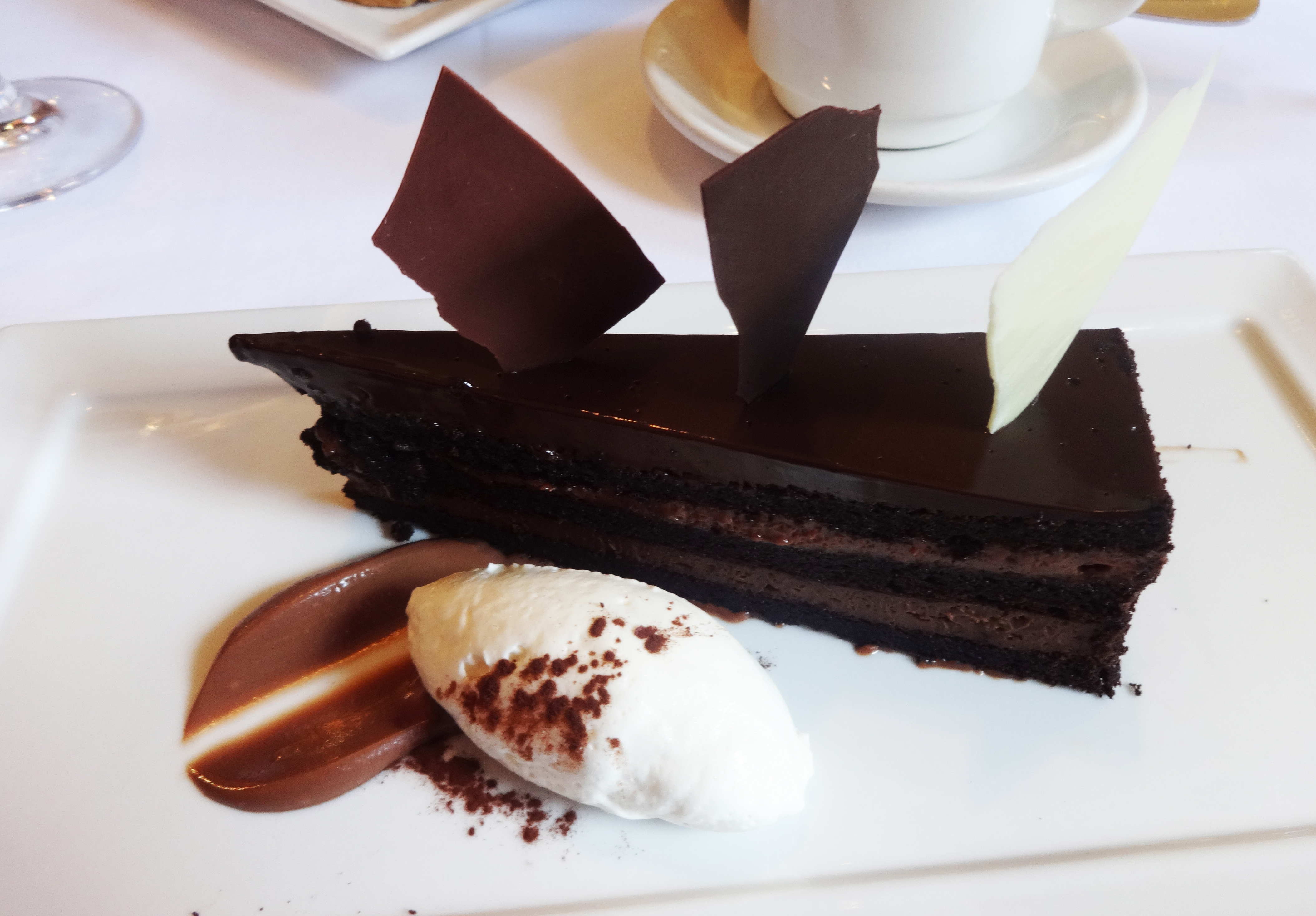 Tribeca chocoate cake
