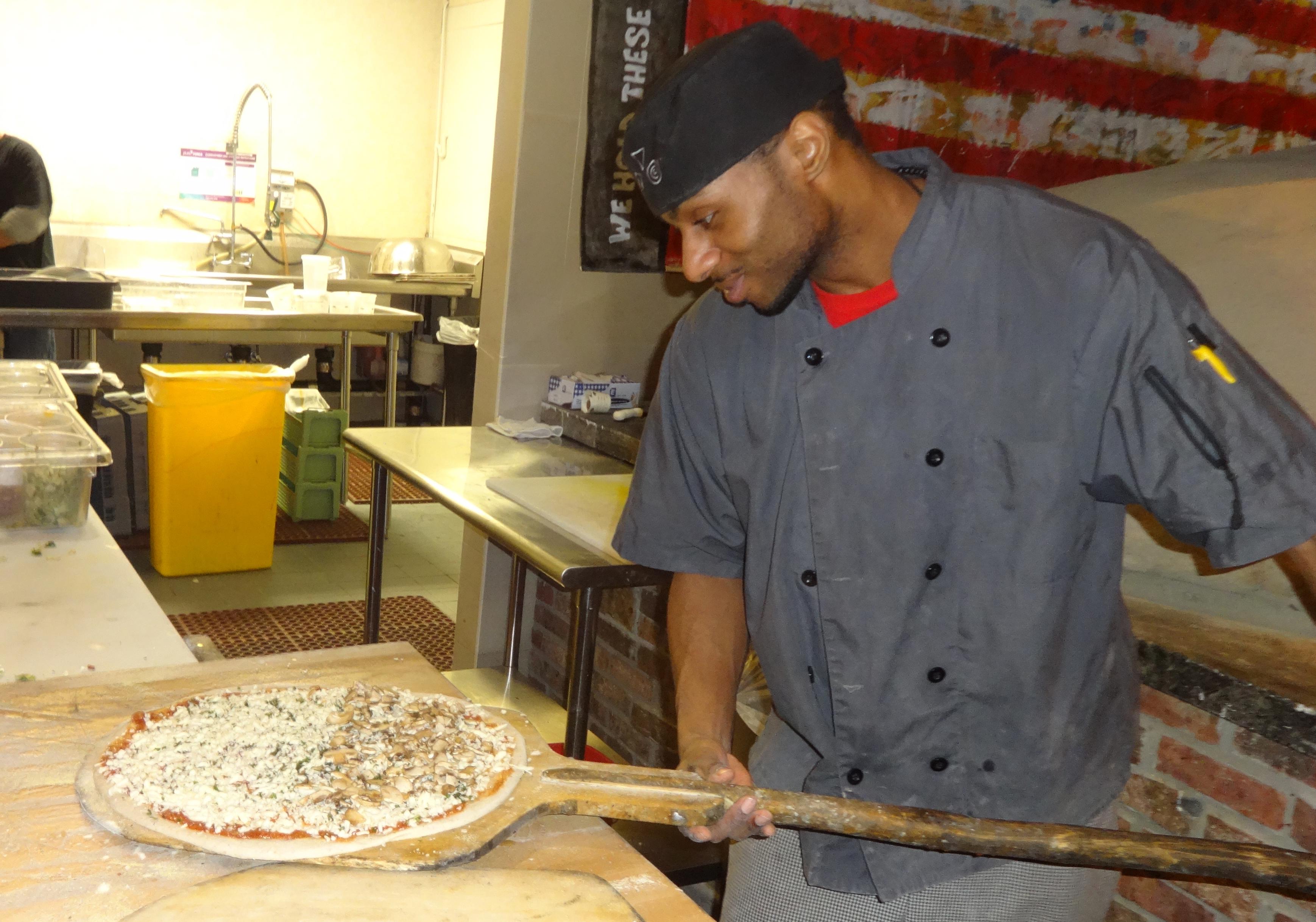 American Flatbread oven chef crop