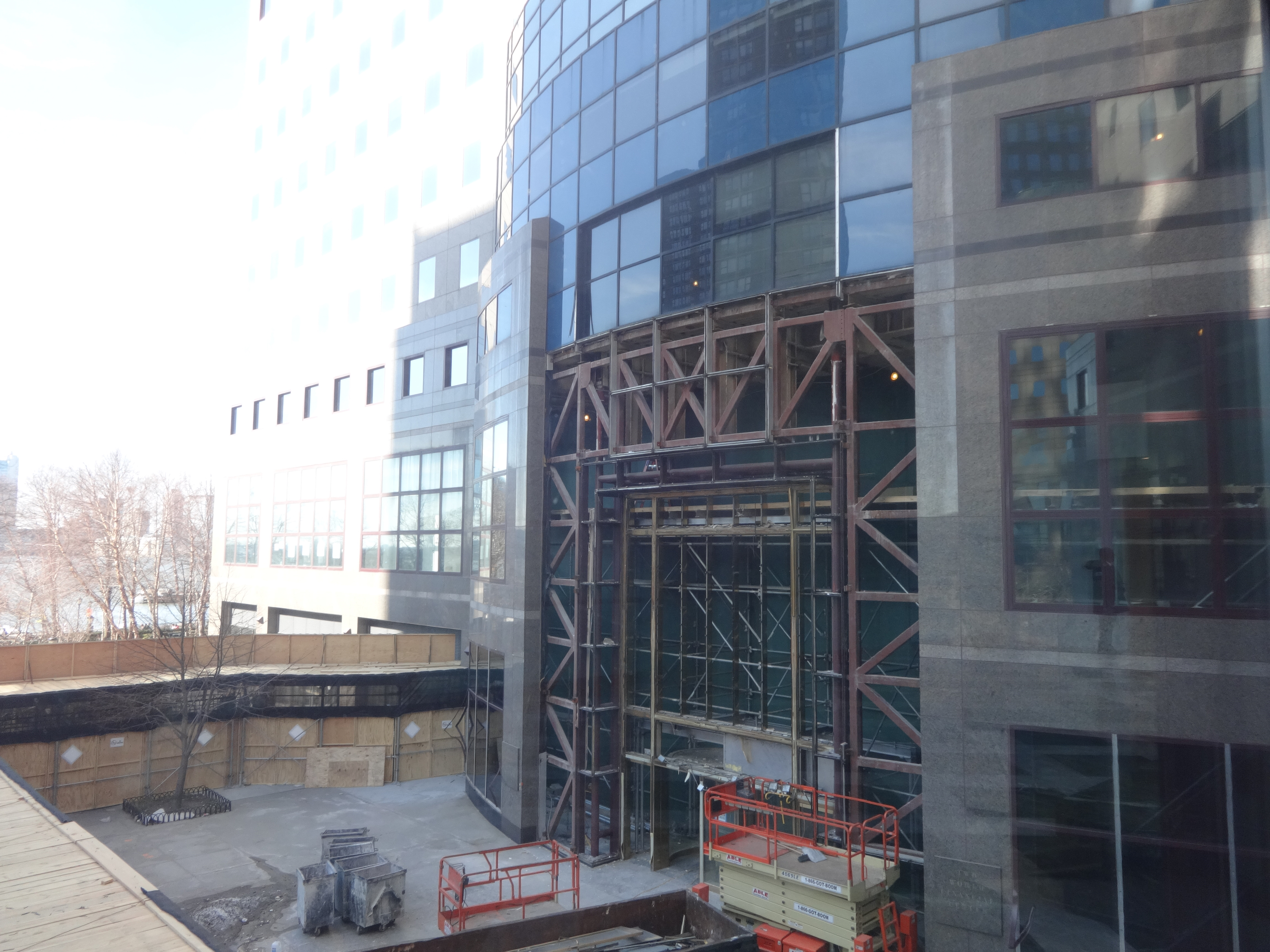 Brookfield Place south entrance 3-9-2014