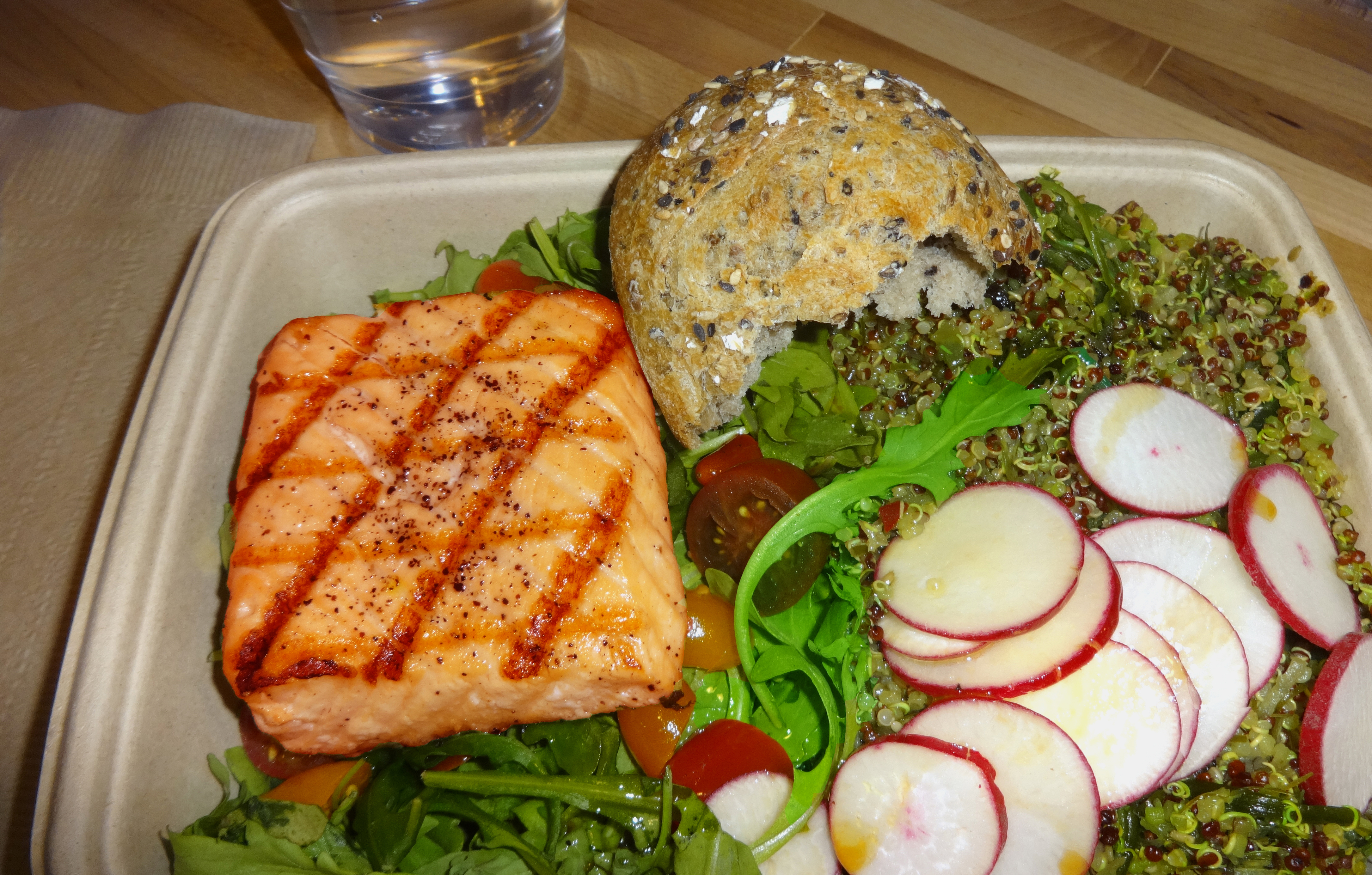 Payard salmon salad