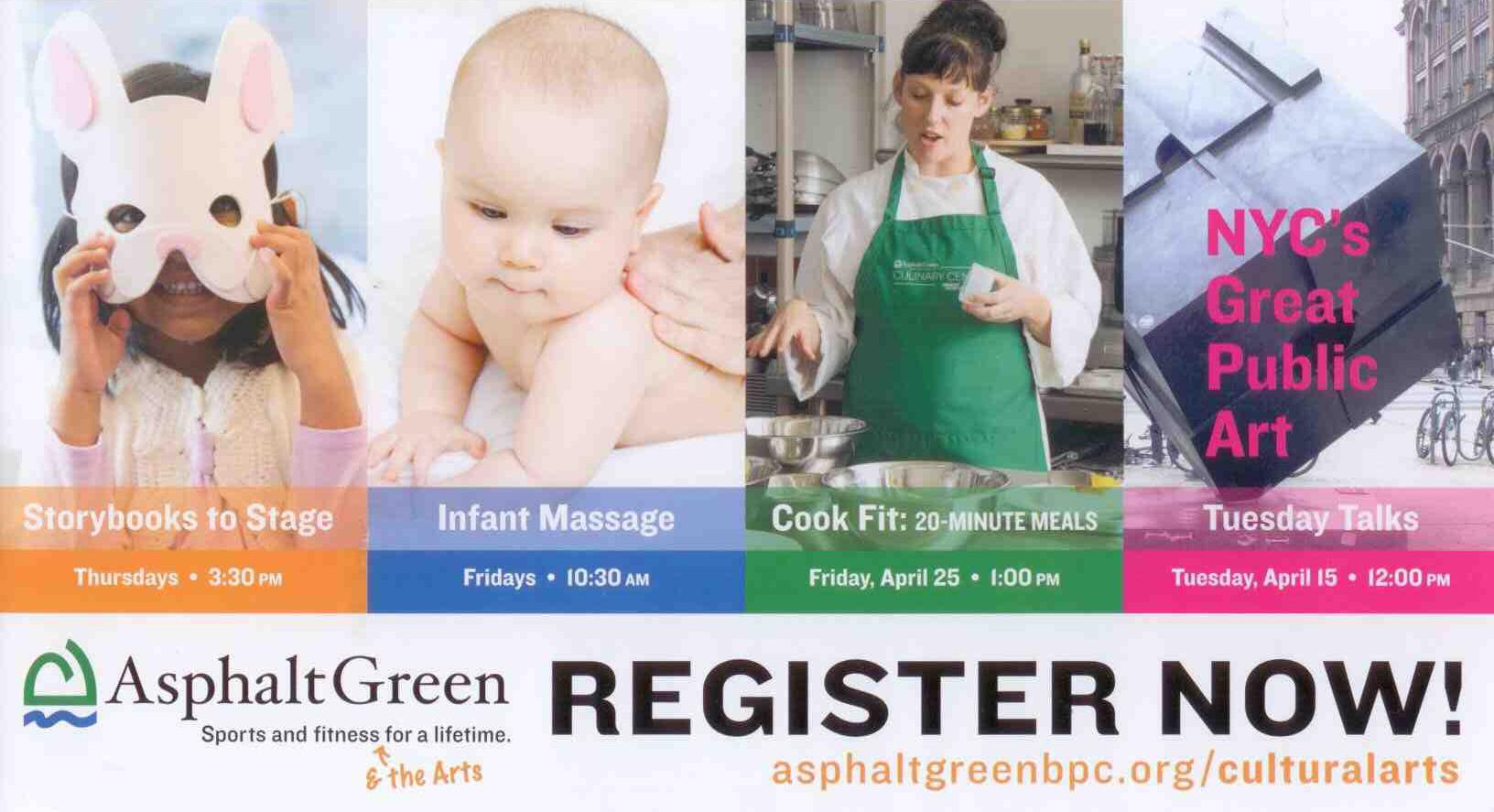 Asphalt Green cooking