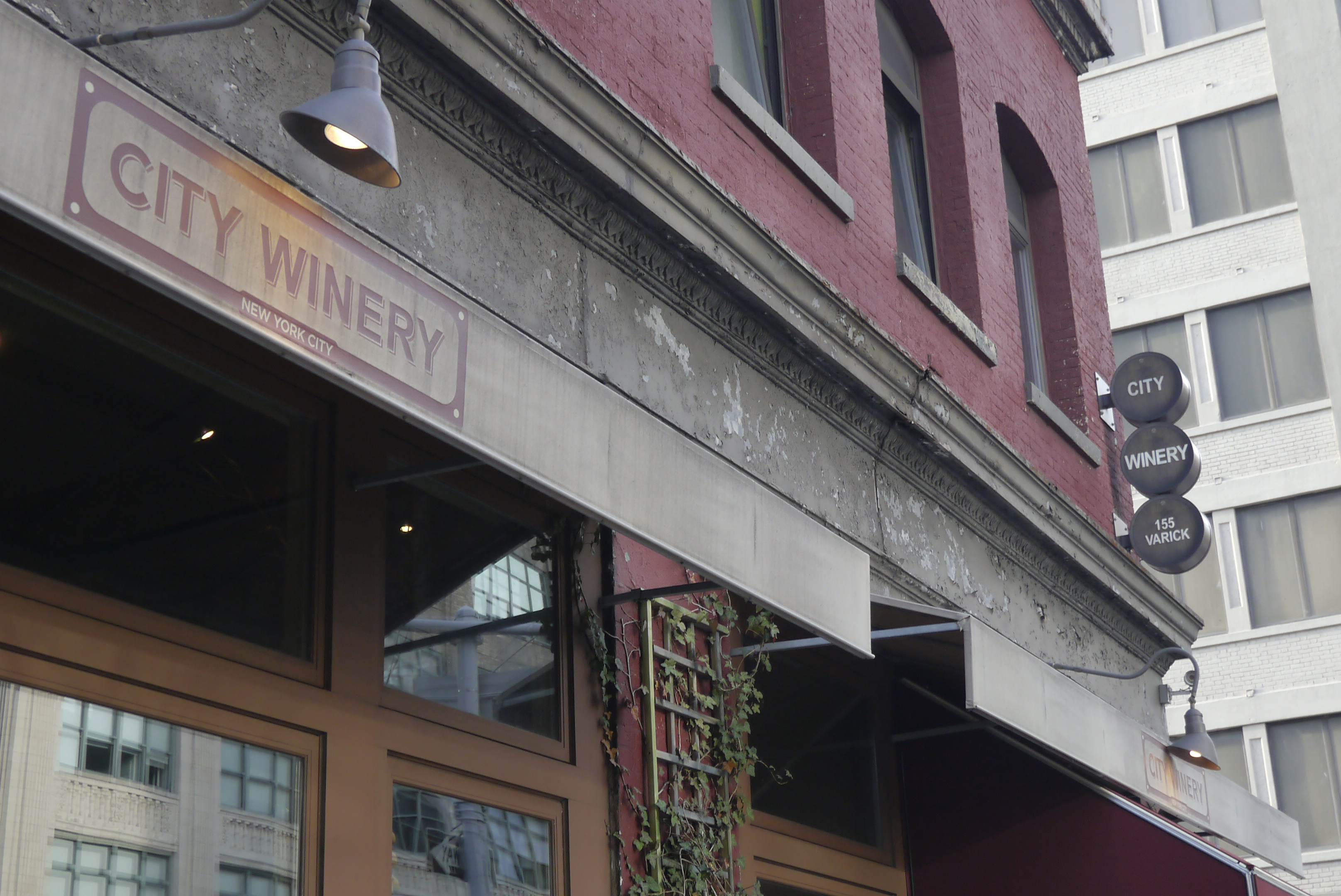 City Winery front