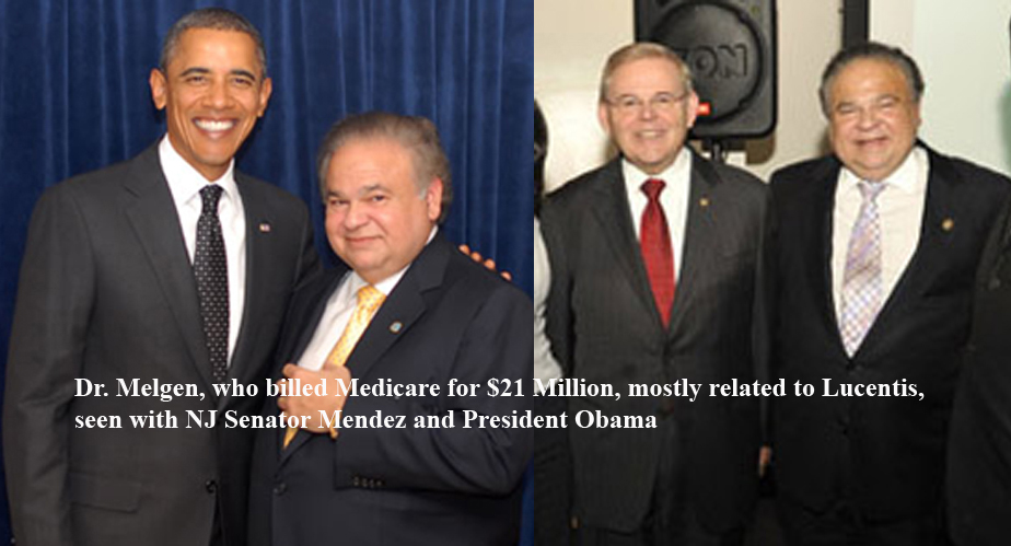 Melgen with Obama and Mendez