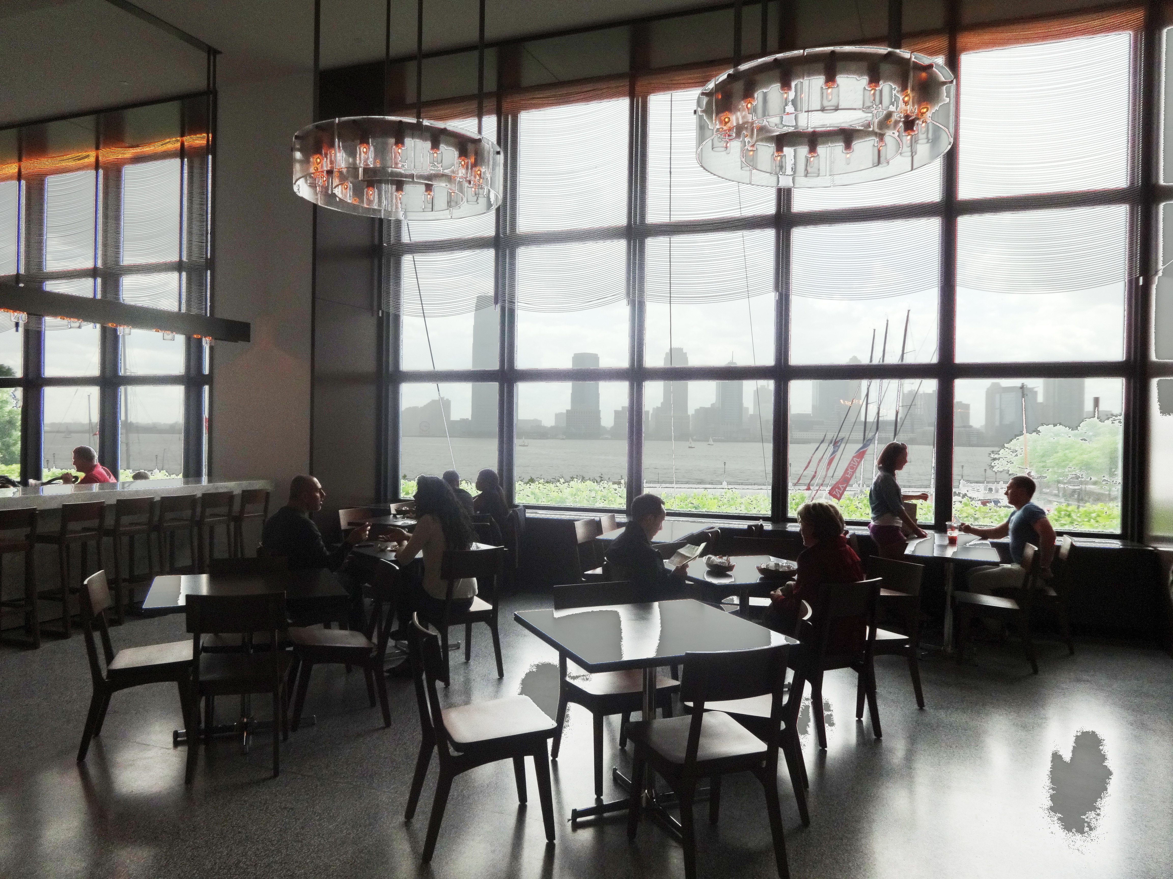 Hudson Eats Views From Hudson Eats In Brookfield Place  Batterypark.tv We Inform