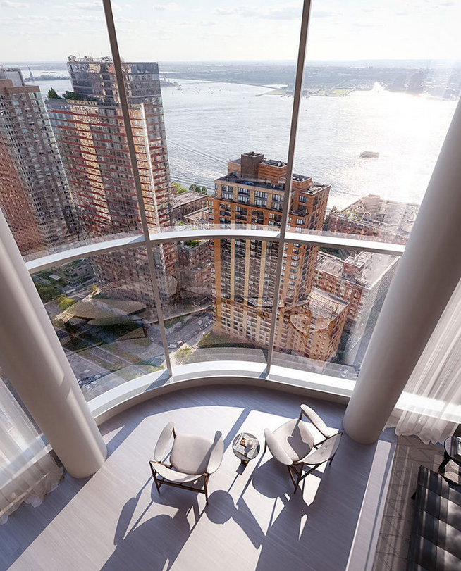 50 West double height condo